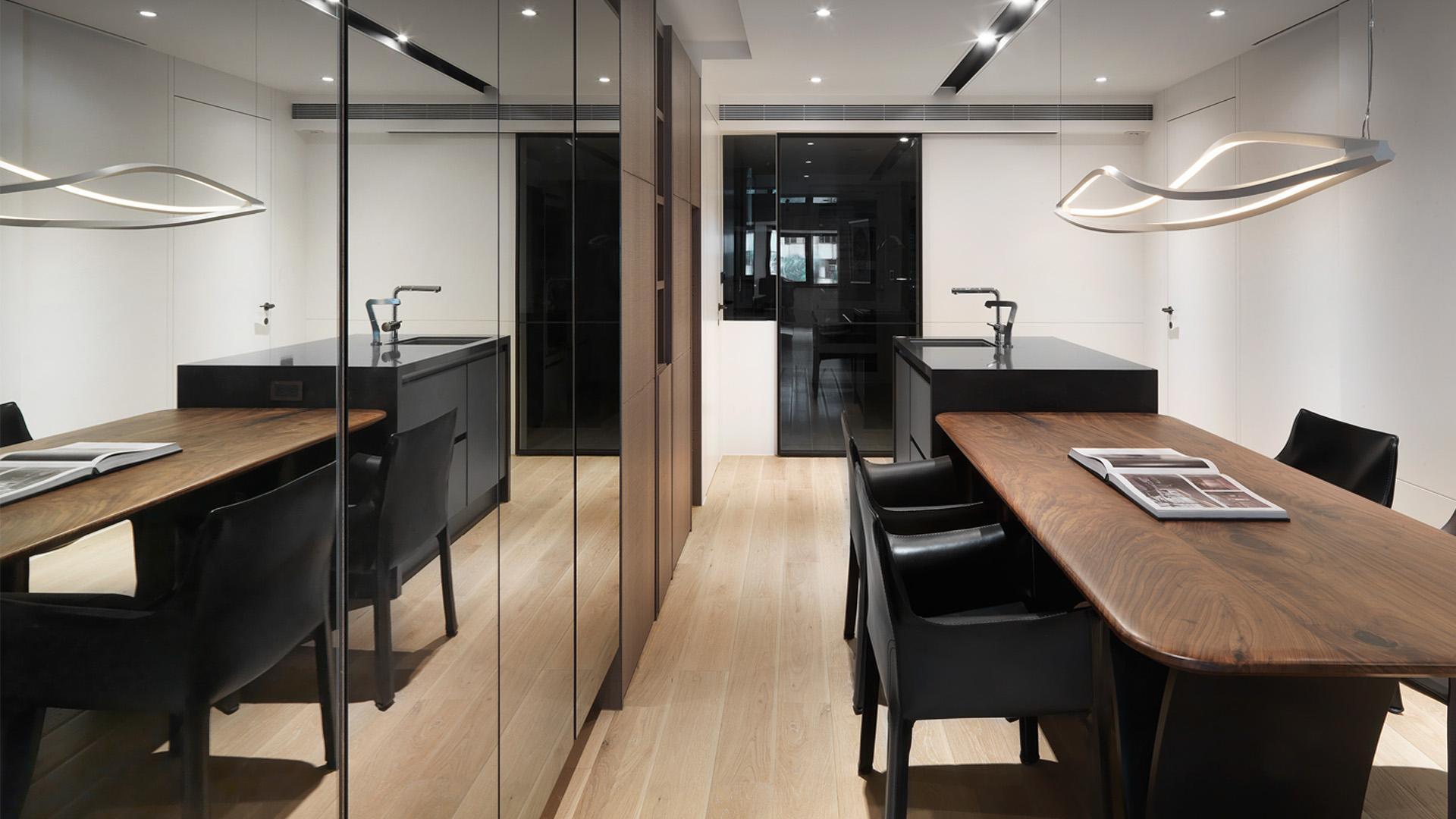 豪宅設計-空間的摺痕-廚房