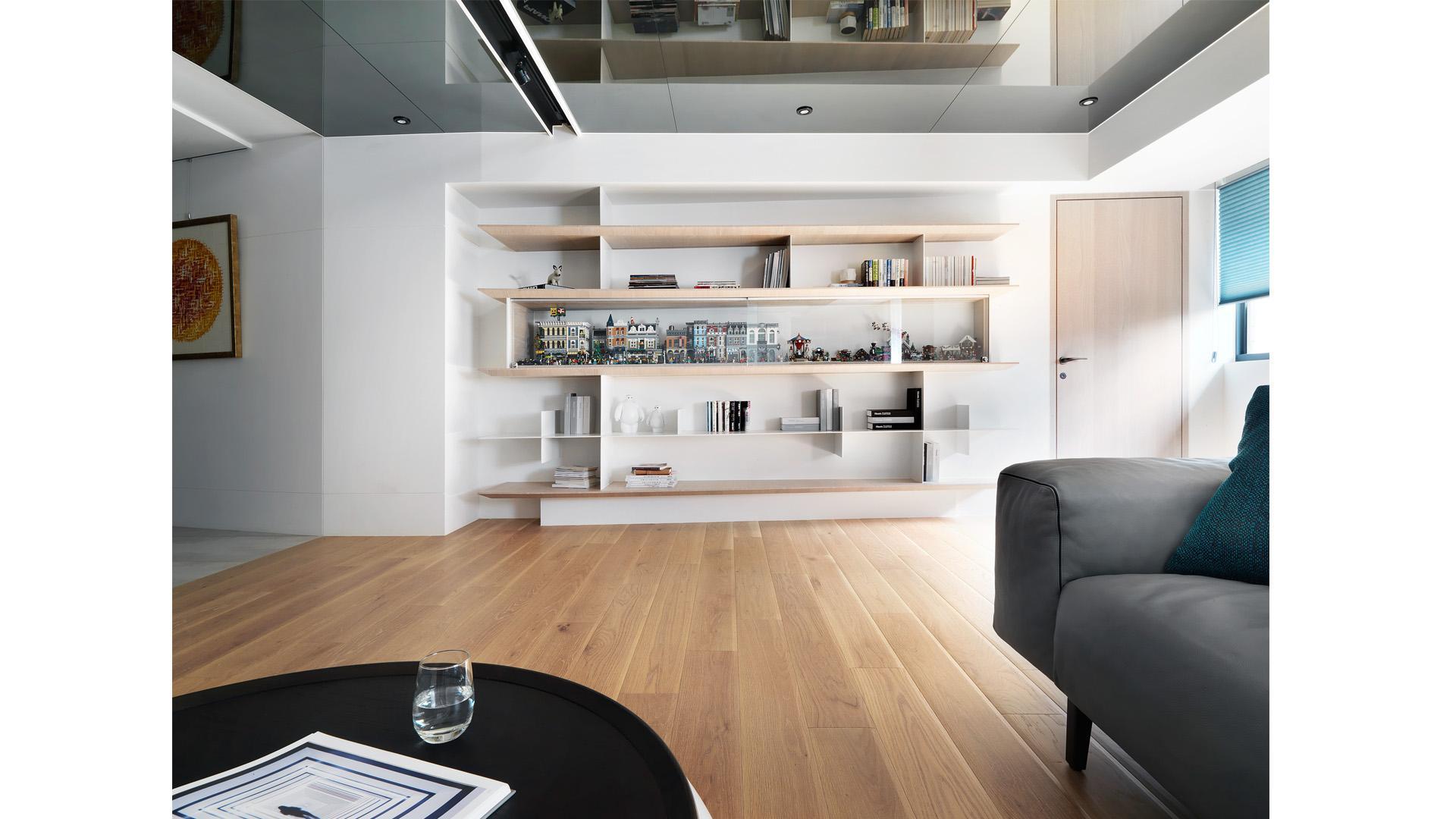 豪宅設計-空間的摺痕-客廳