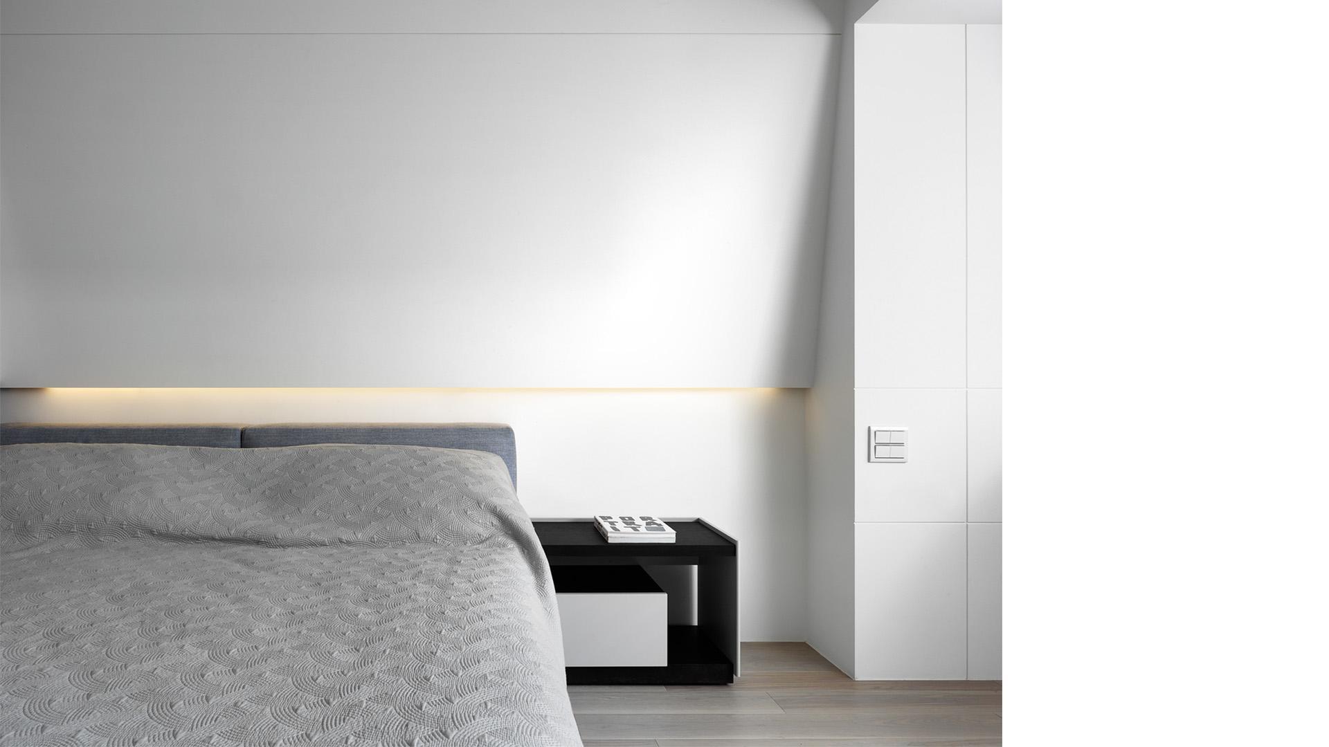 豪宅設計-空間的摺痕-臥房