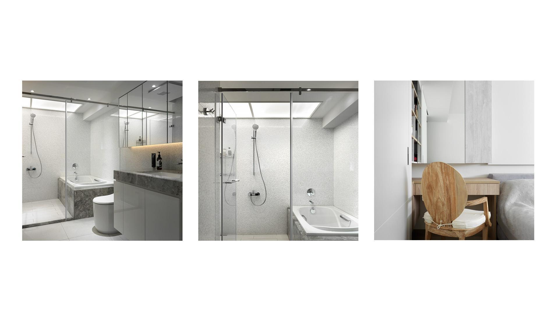 豪宅設計-空間的摺痕-浴廁