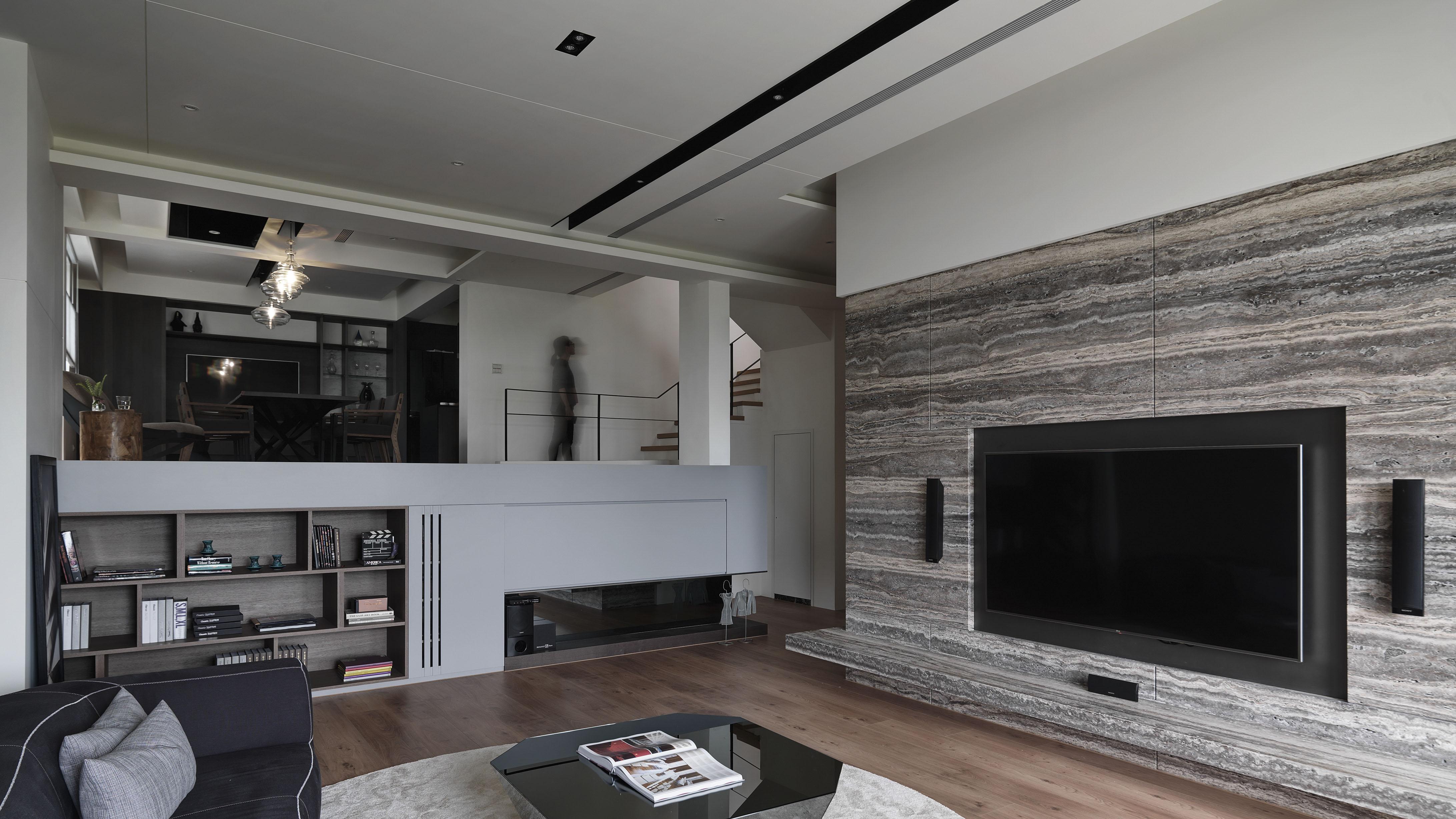 豪宅設計-華城家旅-客廳