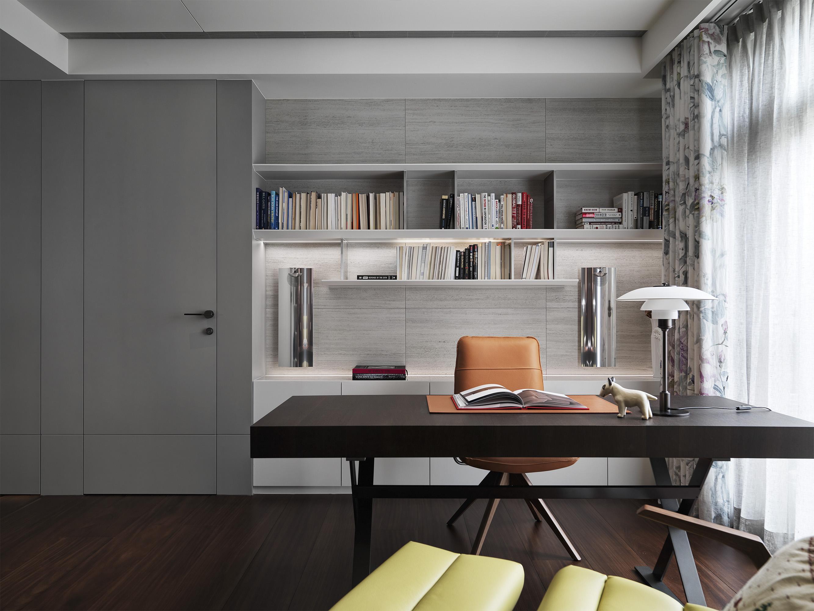 豪宅設計-都市莊園-書房