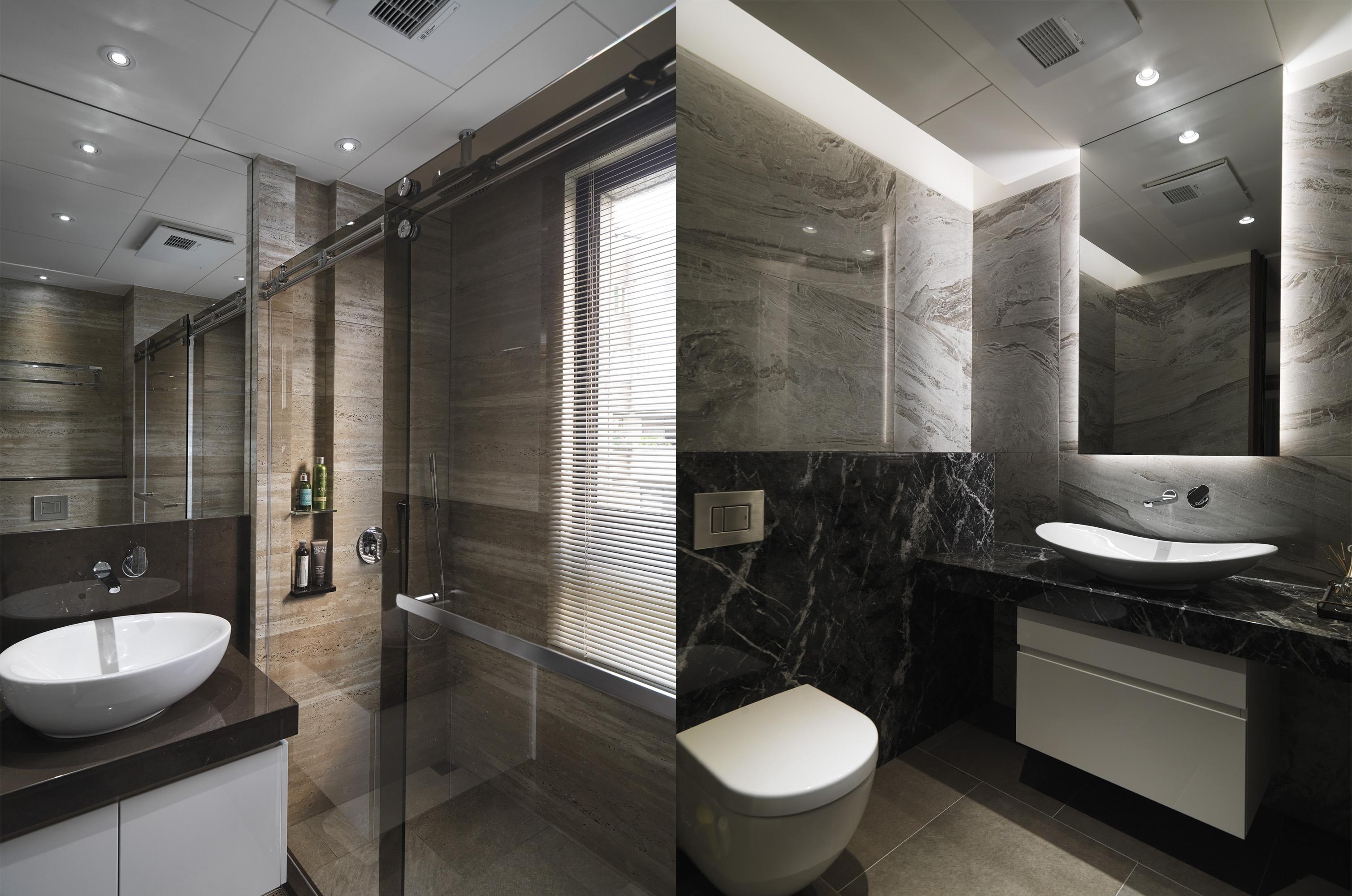 豪宅設計-都市莊園-浴室