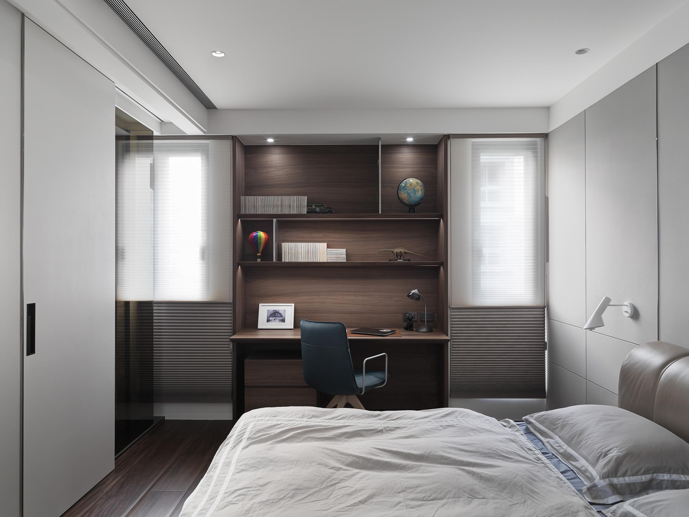 豪宅設計-都市莊園-臥室