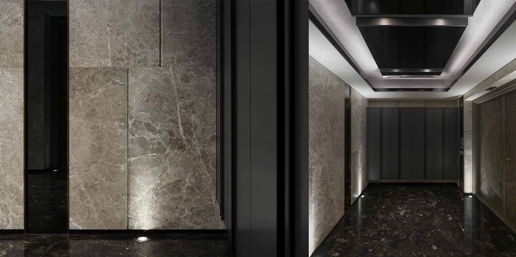 豪宅設計 - 頂層奢華-走道