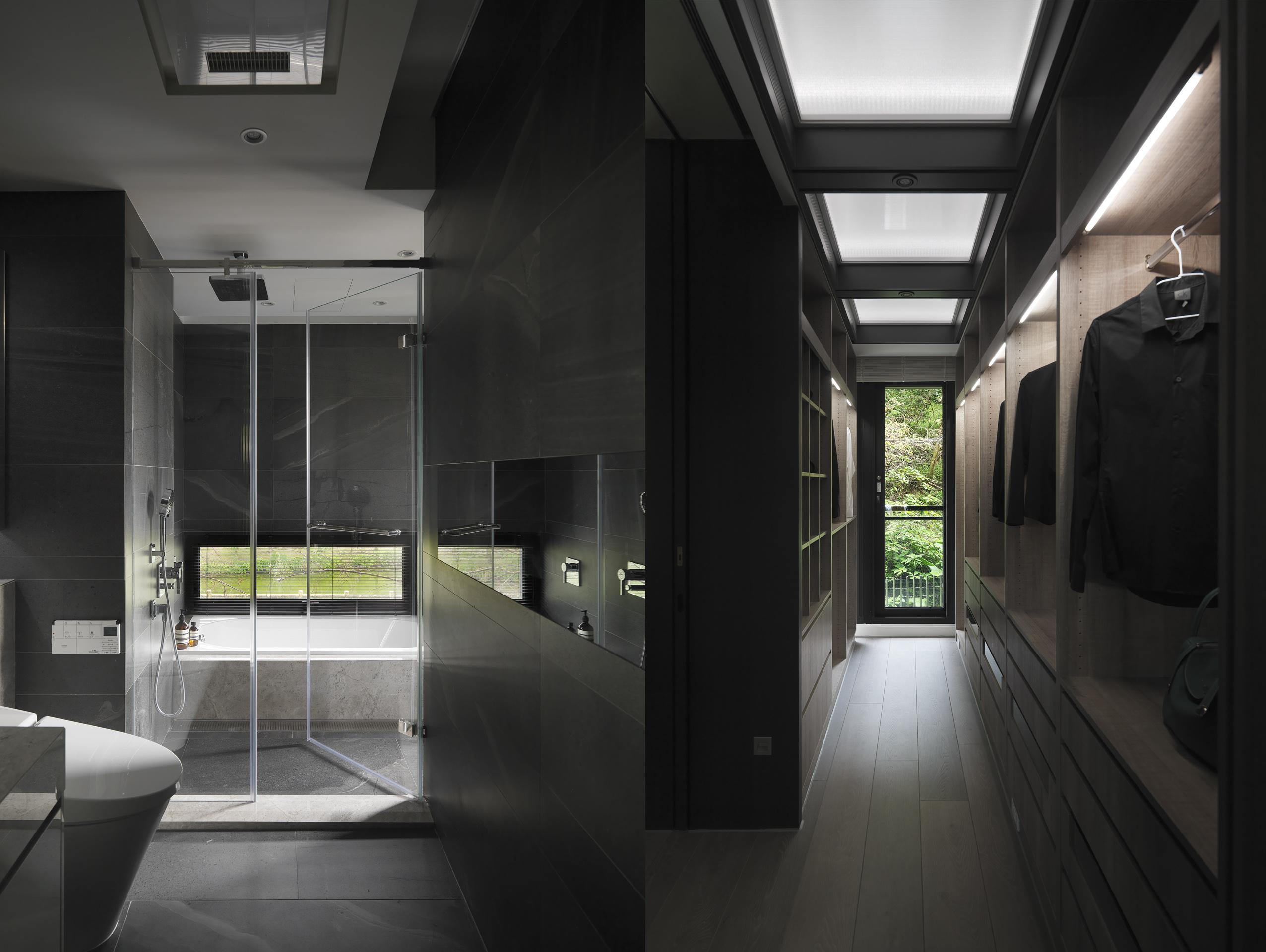 豪宅設計-石砌-浴室