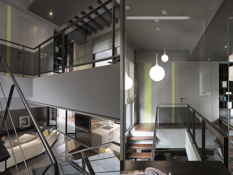 豪宅設計-都市的語彙-客廳