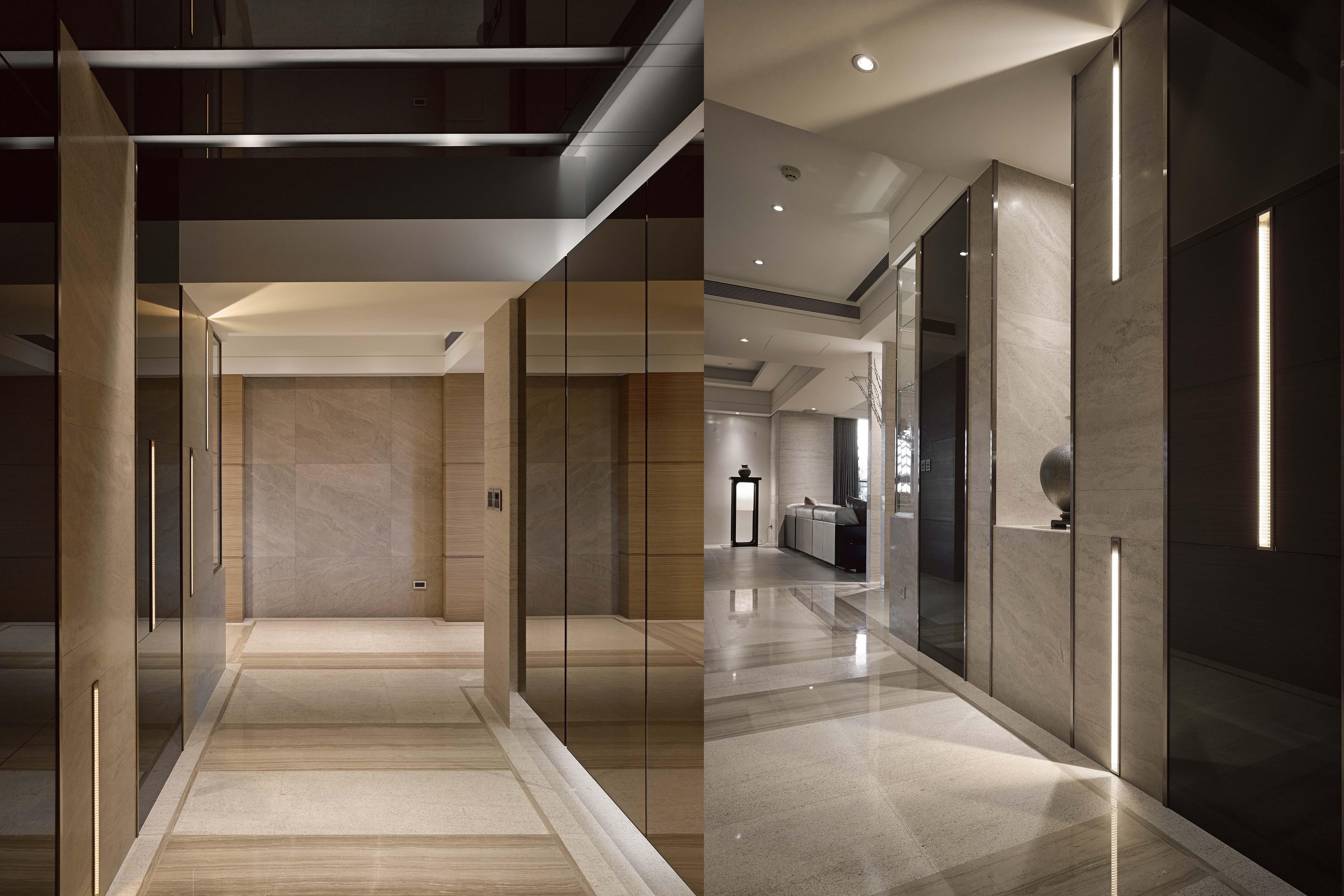 豪宅設計-秘境宅邸-玄關