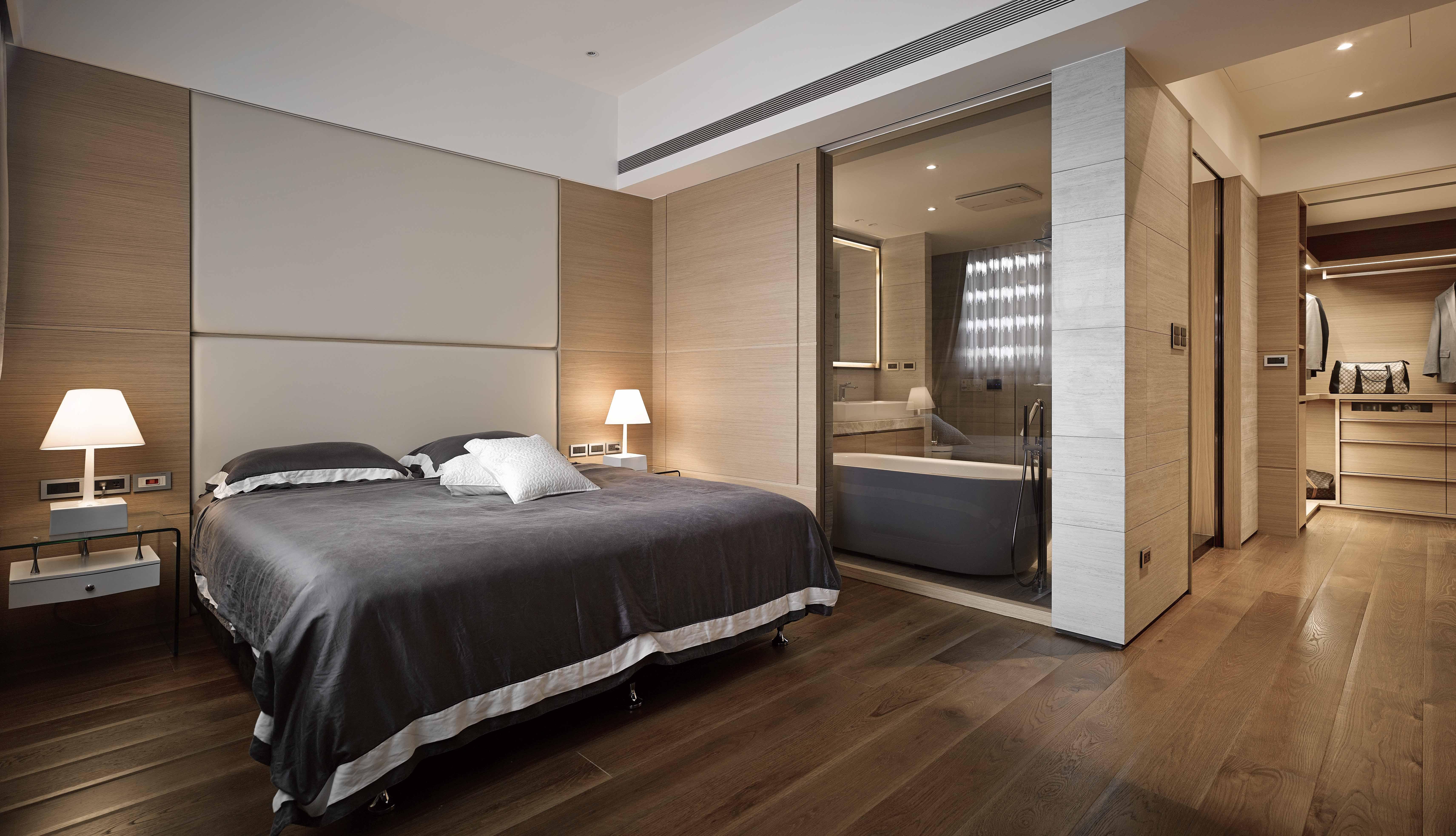 豪宅設計-秘境宅邸-臥室