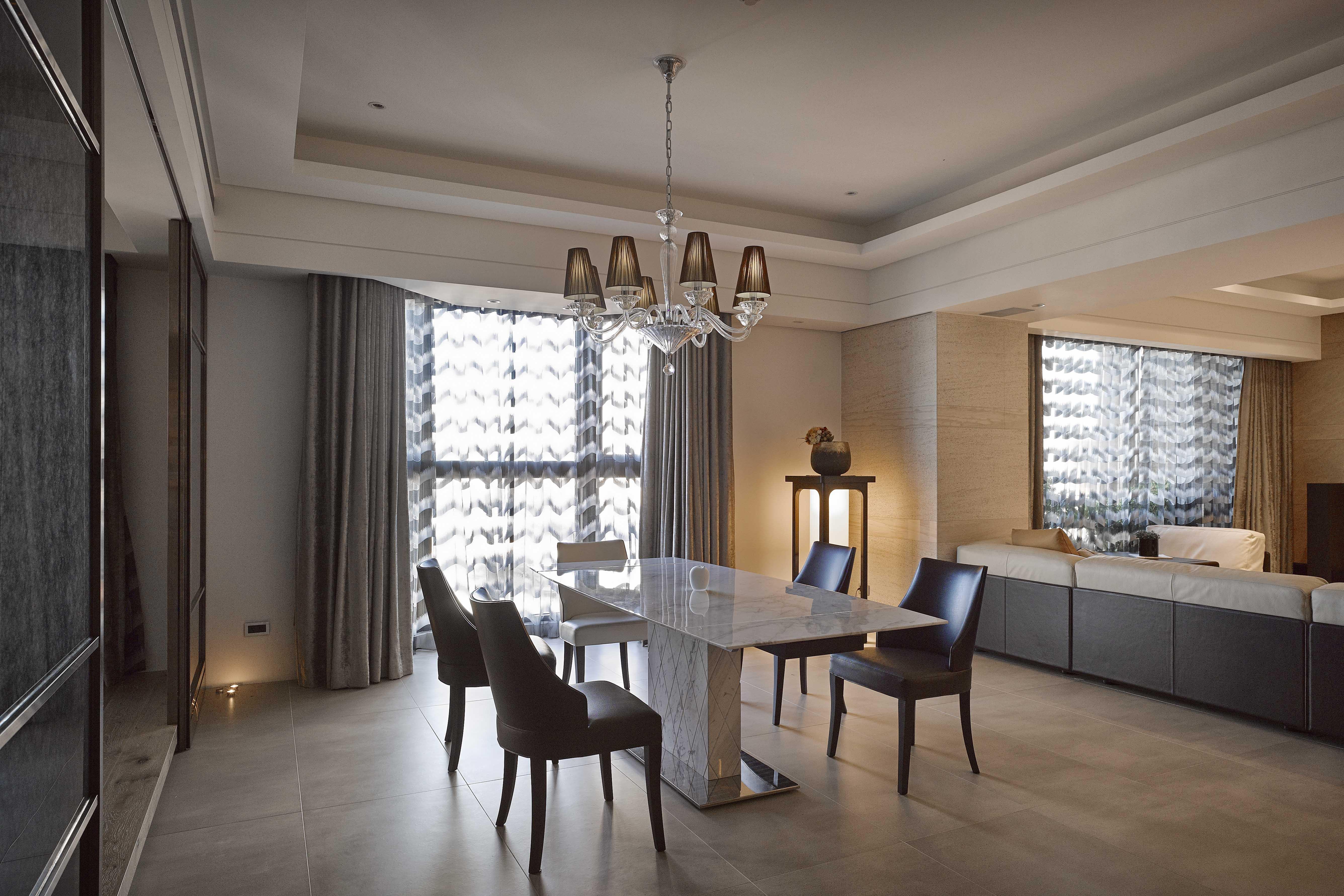 豪宅設計-秘境宅邸-客廳