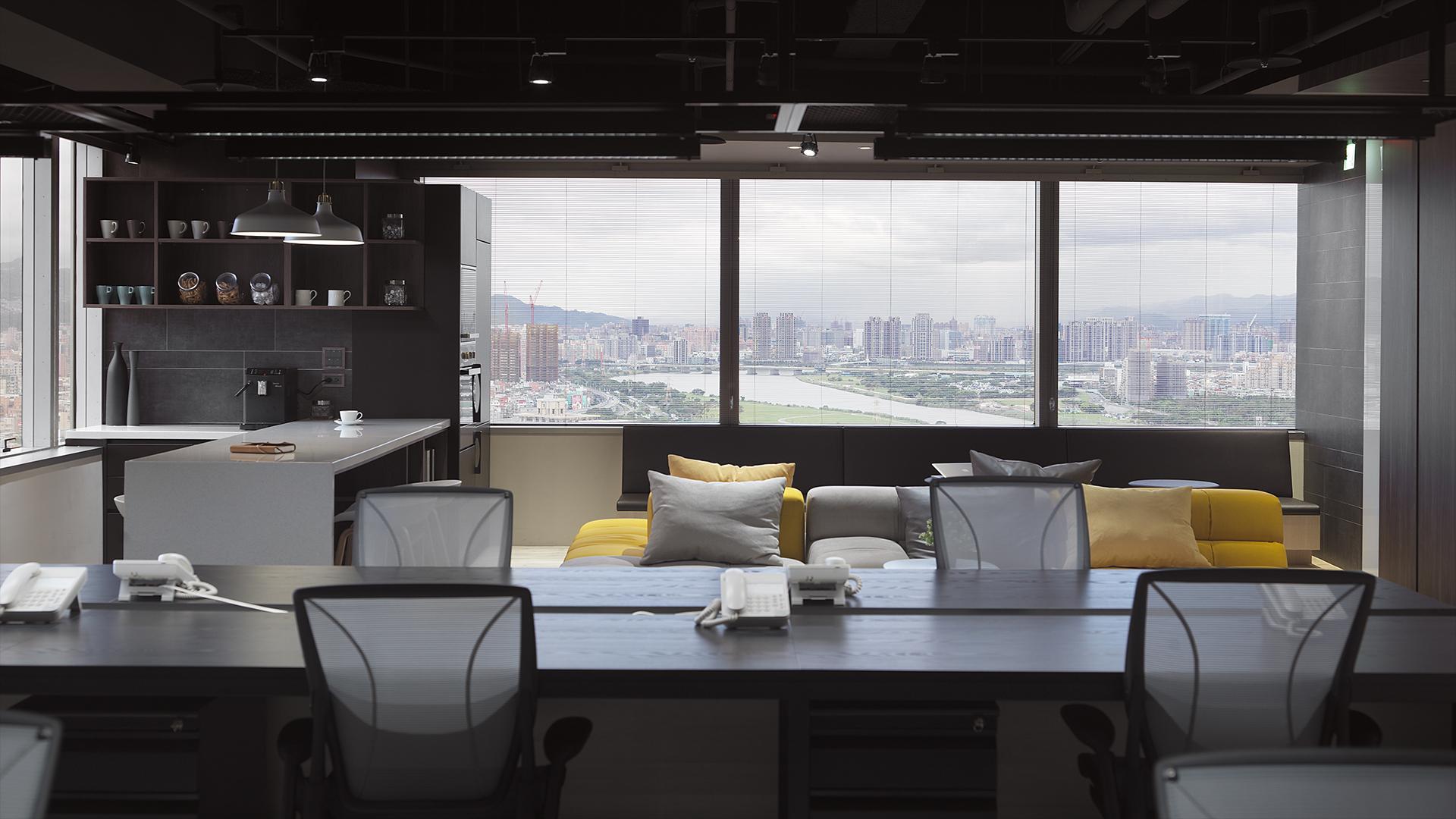 商空設計-城市的切面-會議室