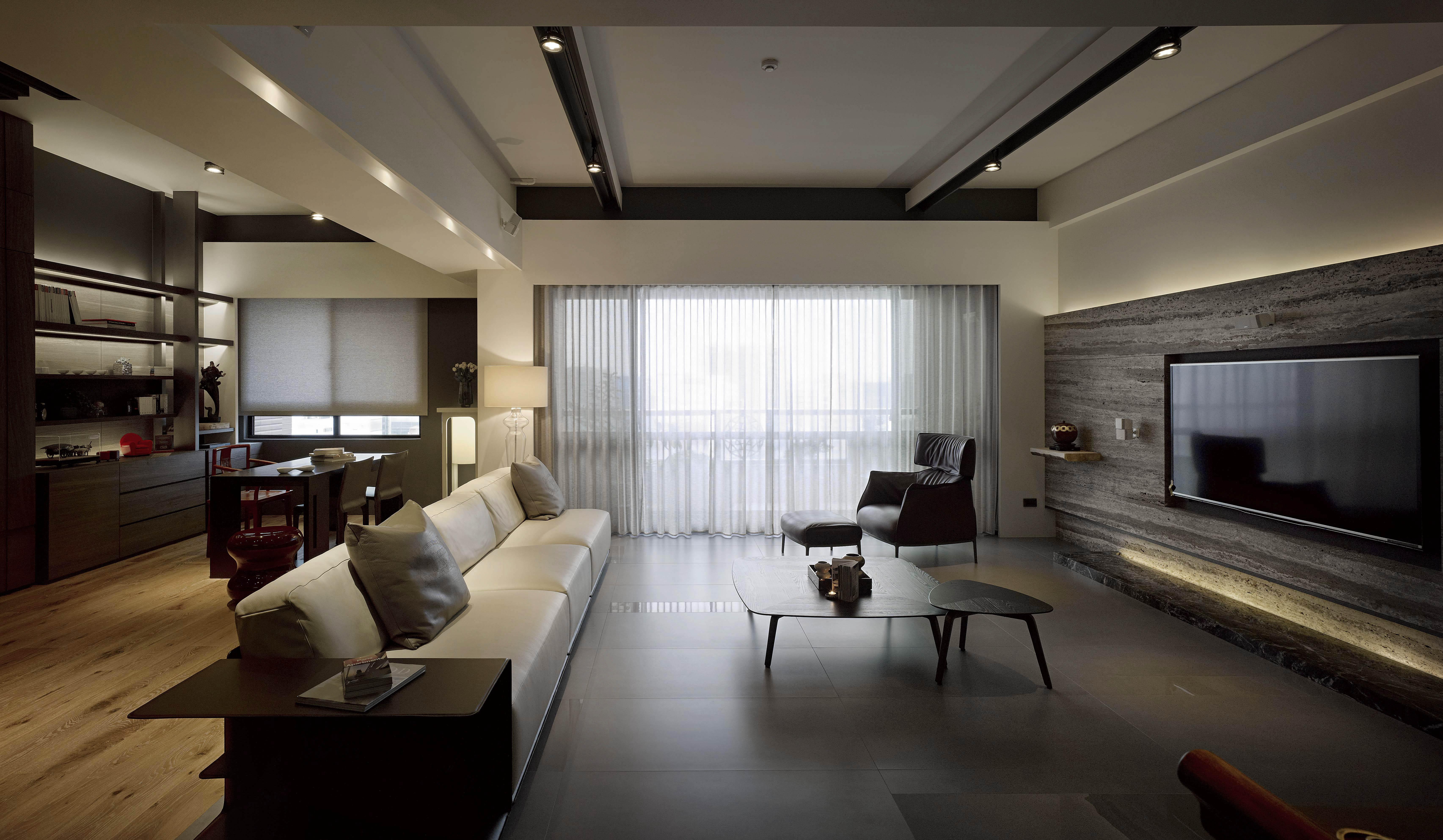 i豪宅設計-當代上林-客廳