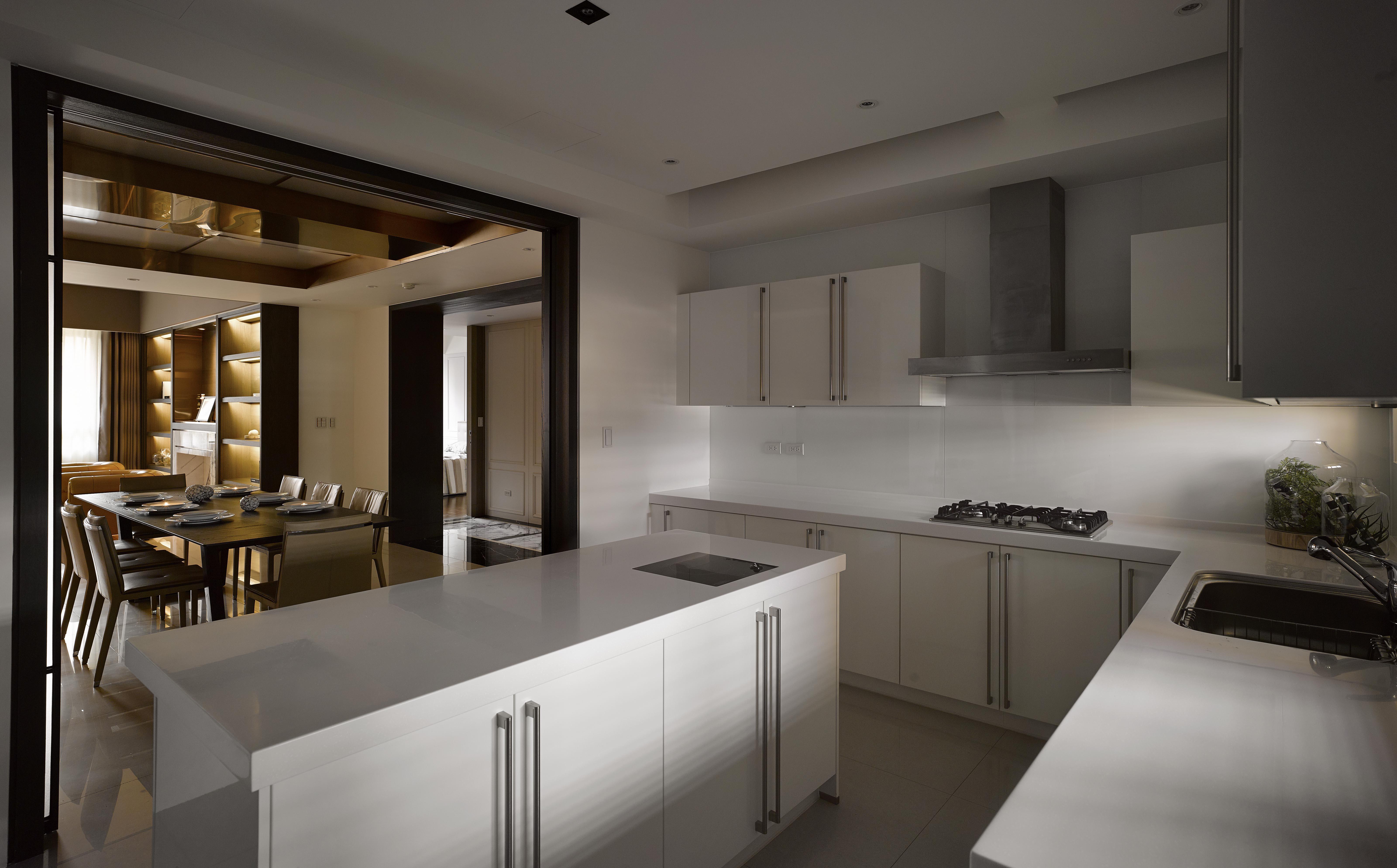 豪宅設計-當代毆藝-廚房