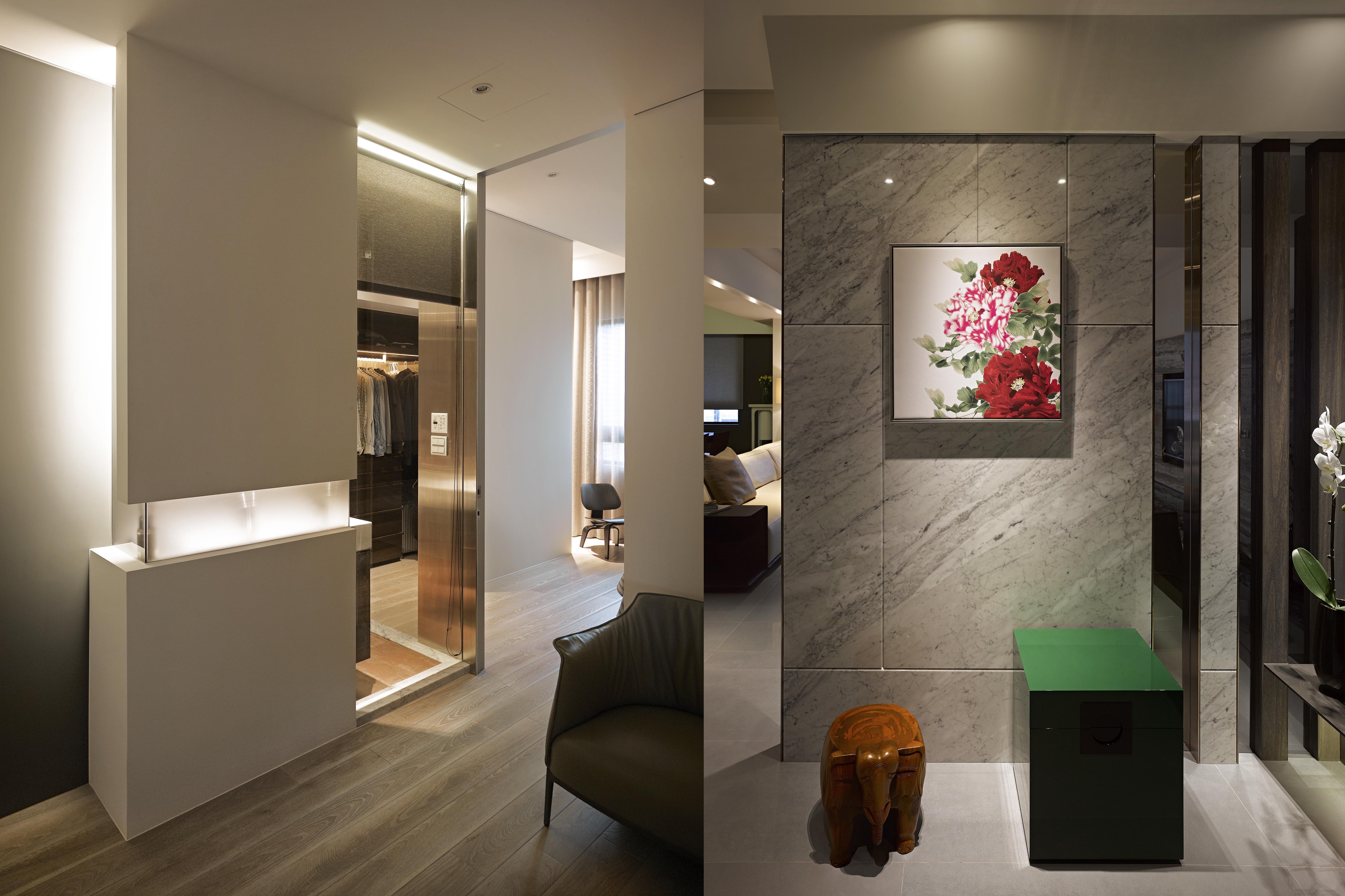 豪宅設計-當代上林-玄關