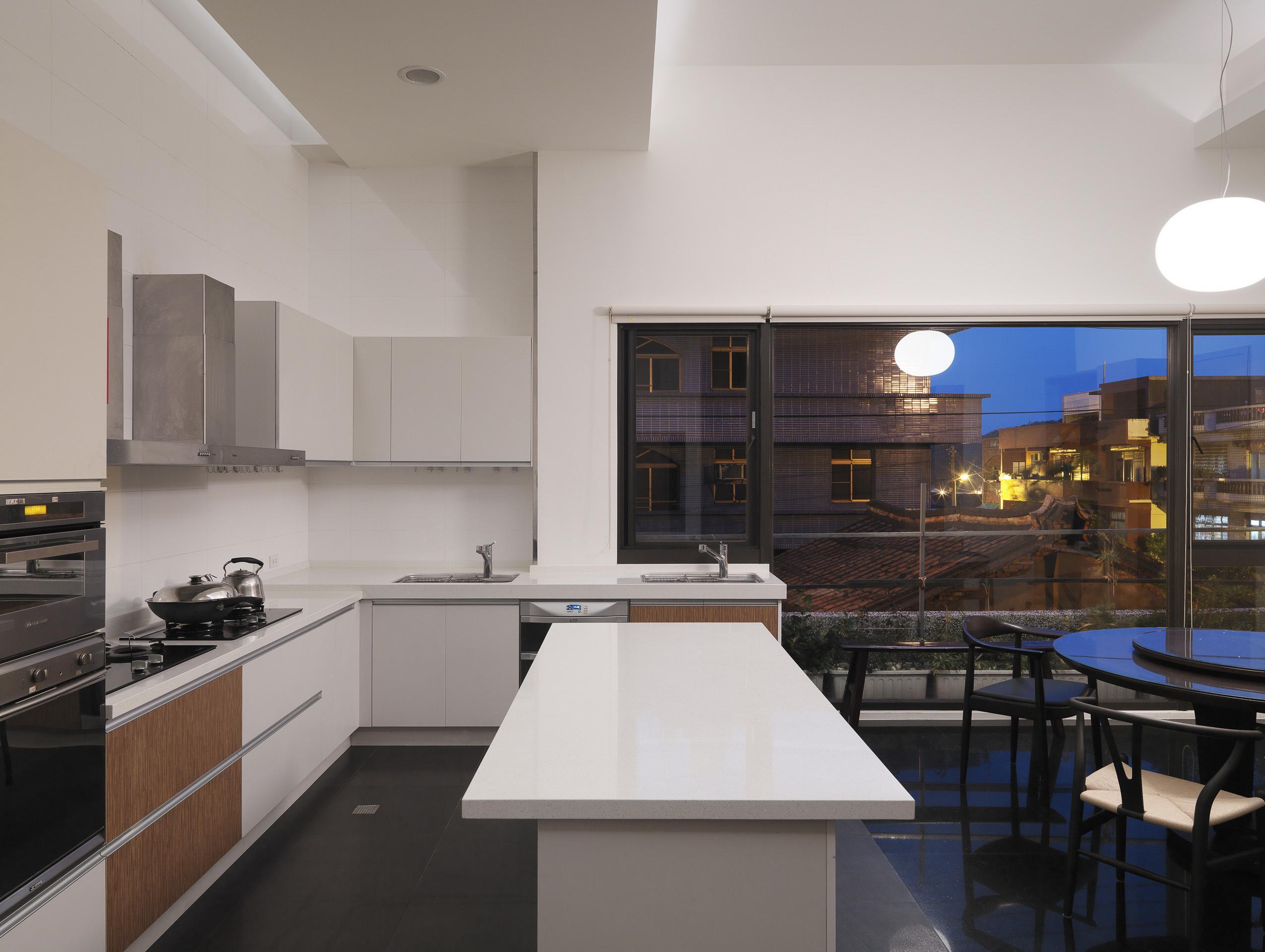 建築設計-傳承與重生-廚房
