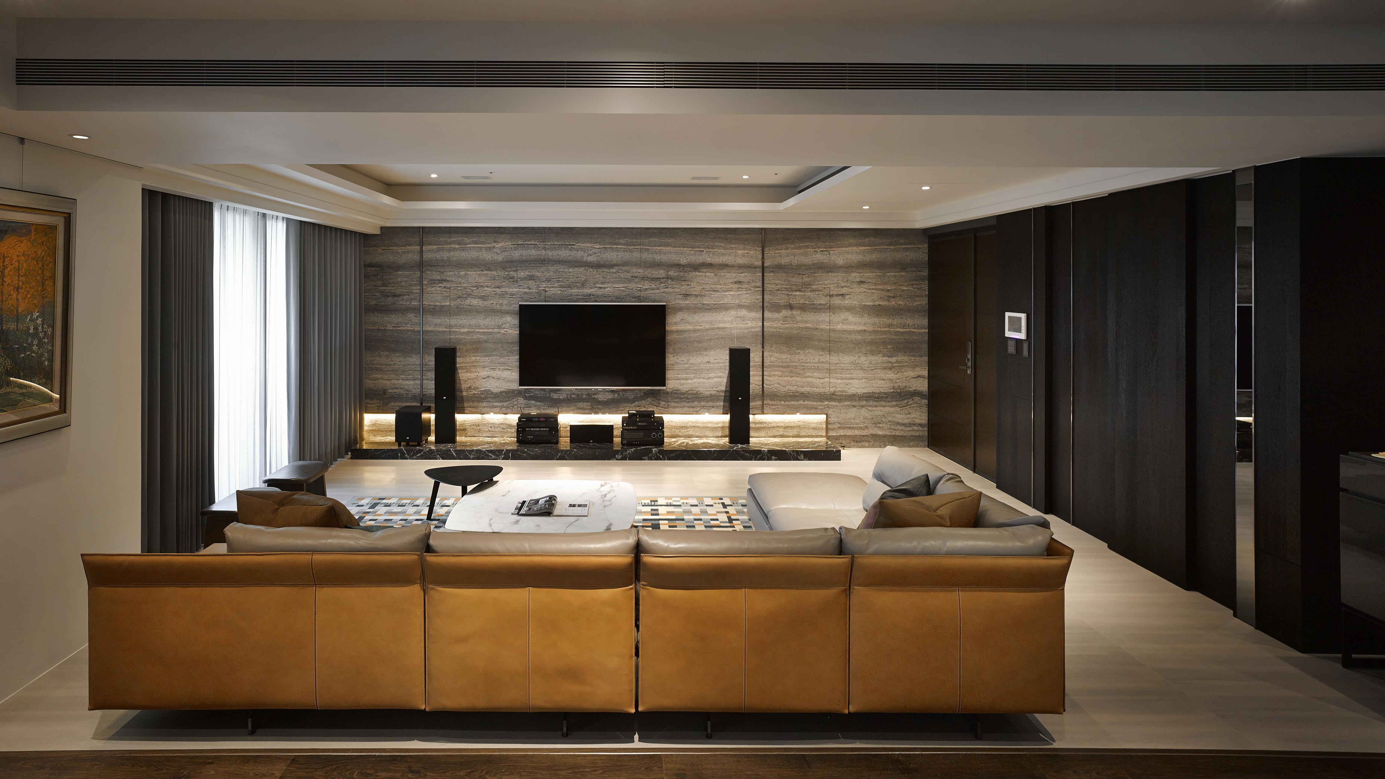豪宅設計-藏藝-客廳