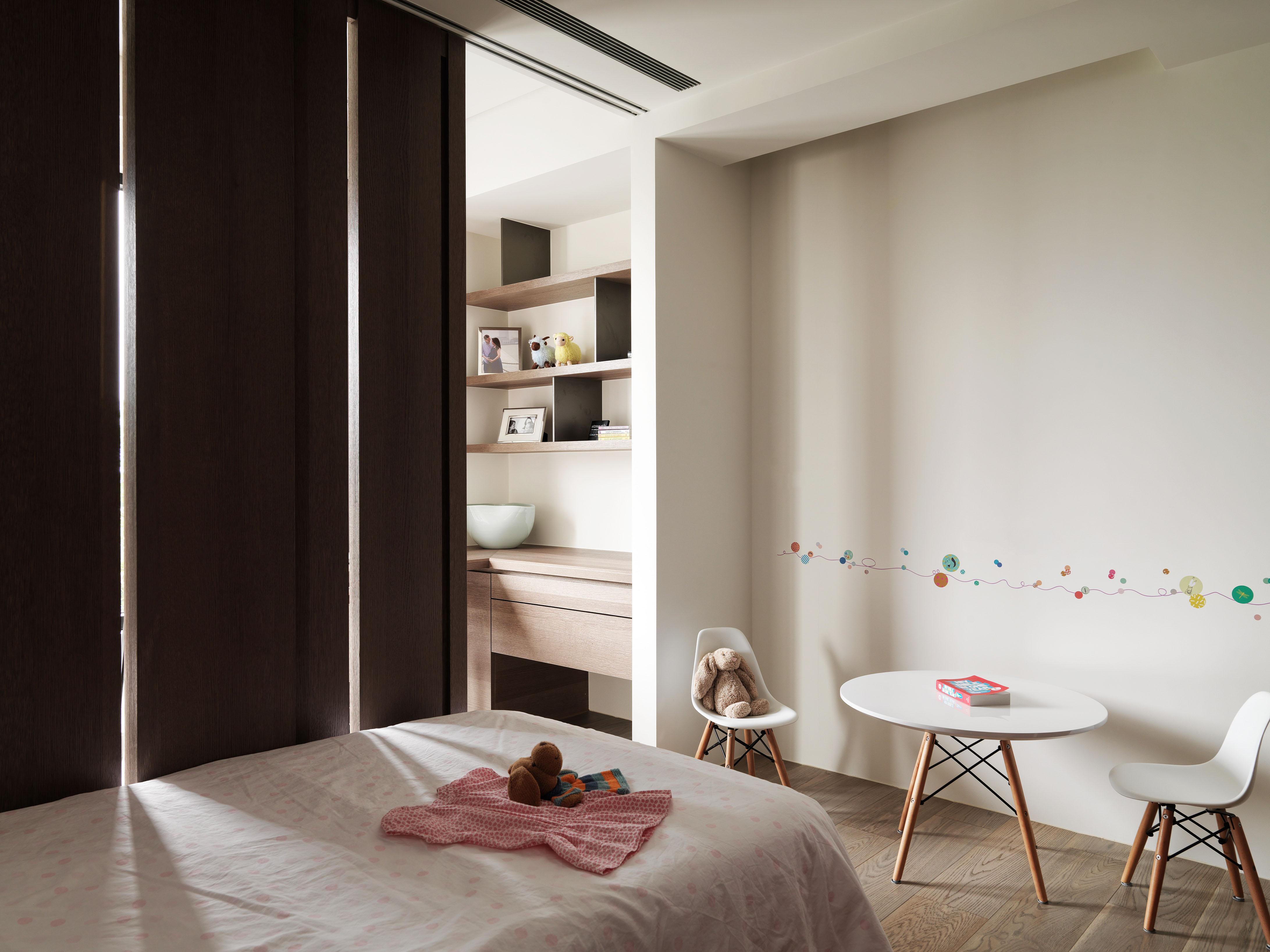 豪宅設計-山靜-臥房