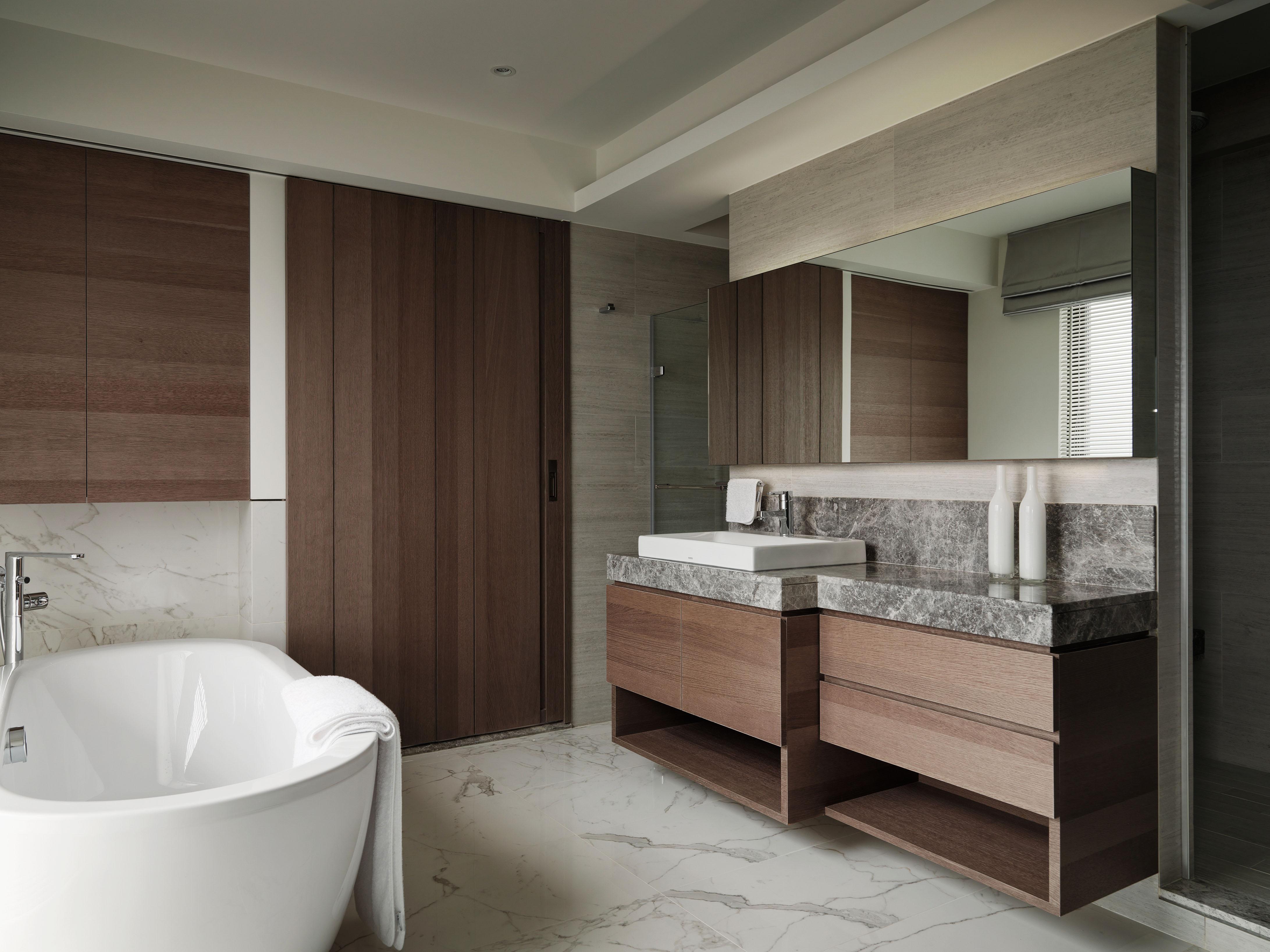 豪宅設計-山靜-浴廁