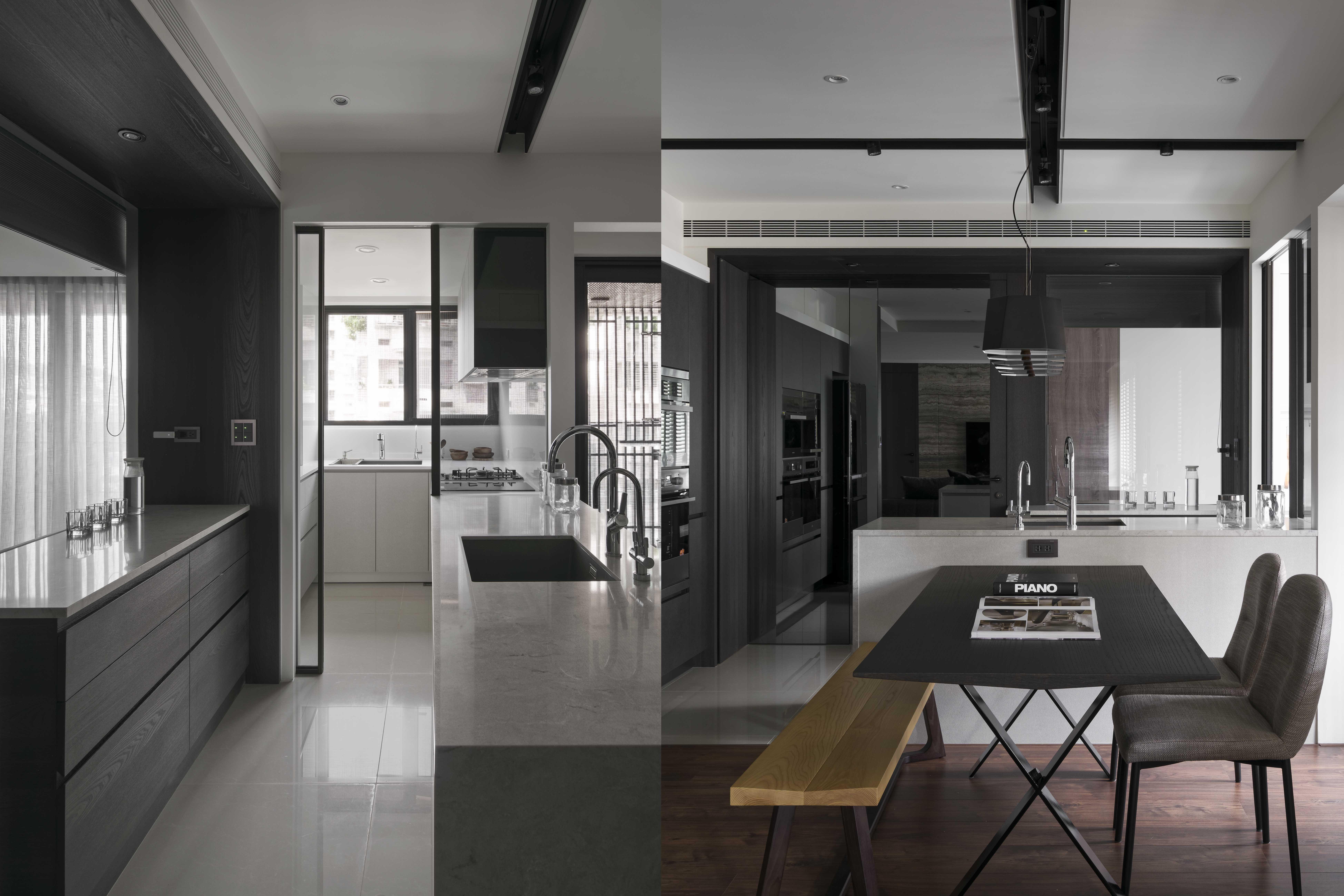 豪宅設計-文匯L宅-廚房