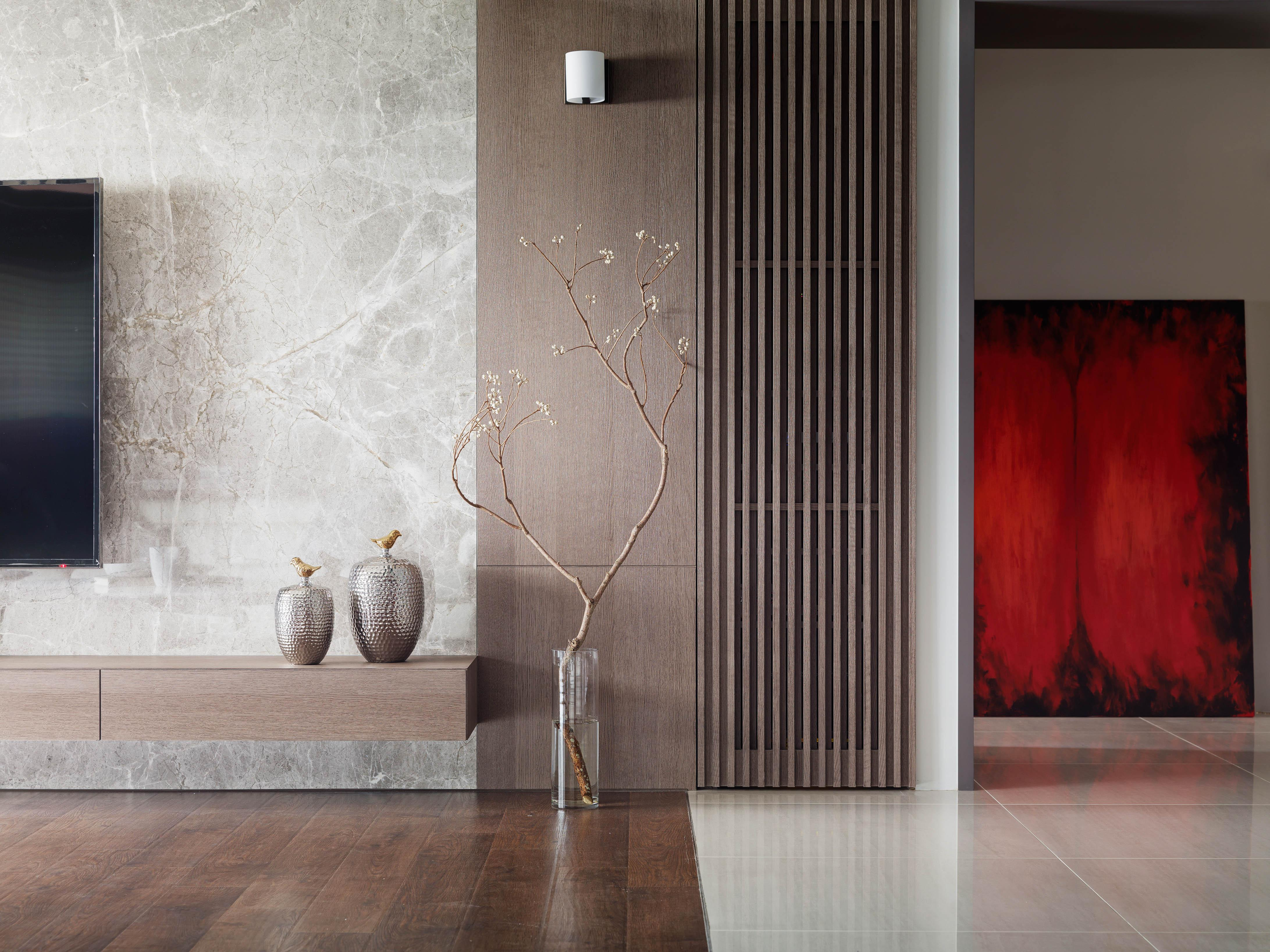 豪宅設計-複述/ 嫣紅-客廳