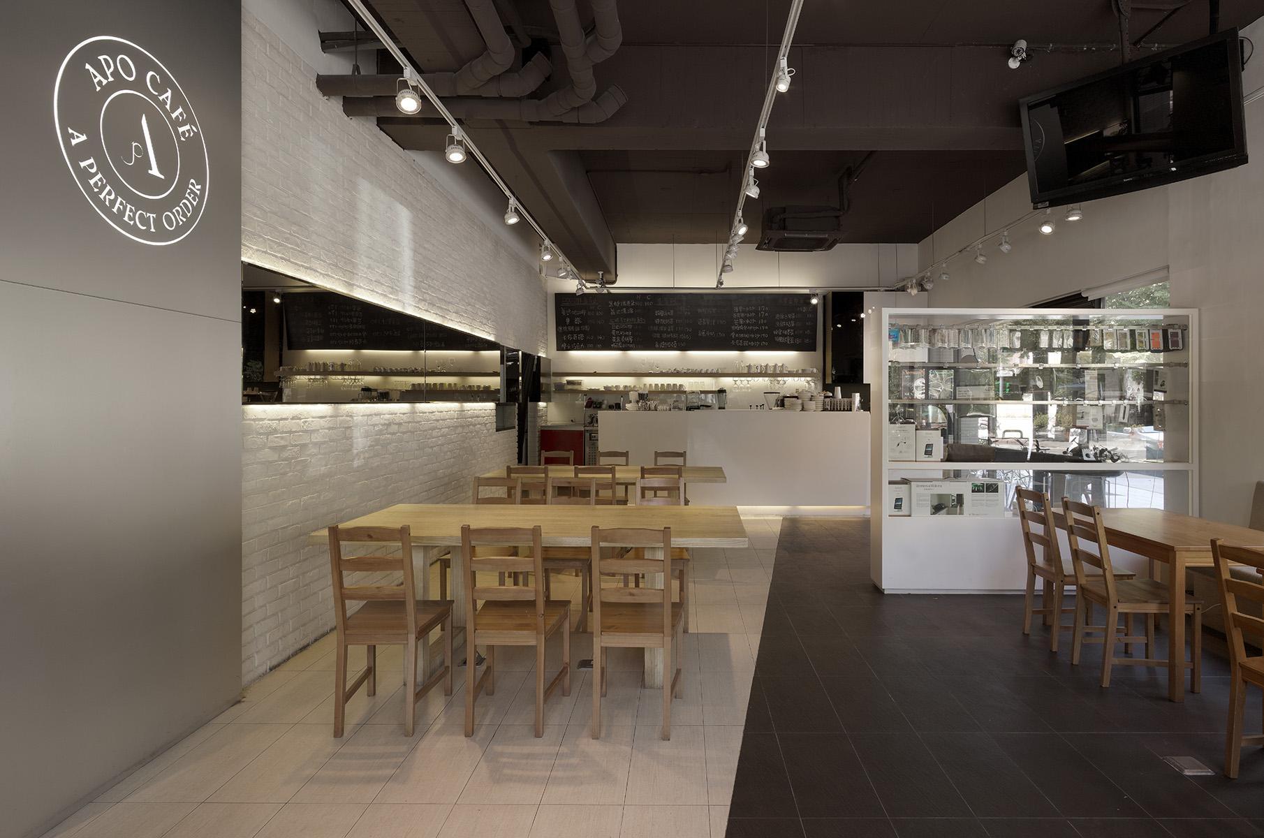 室內設計作品 北歐風餐廳