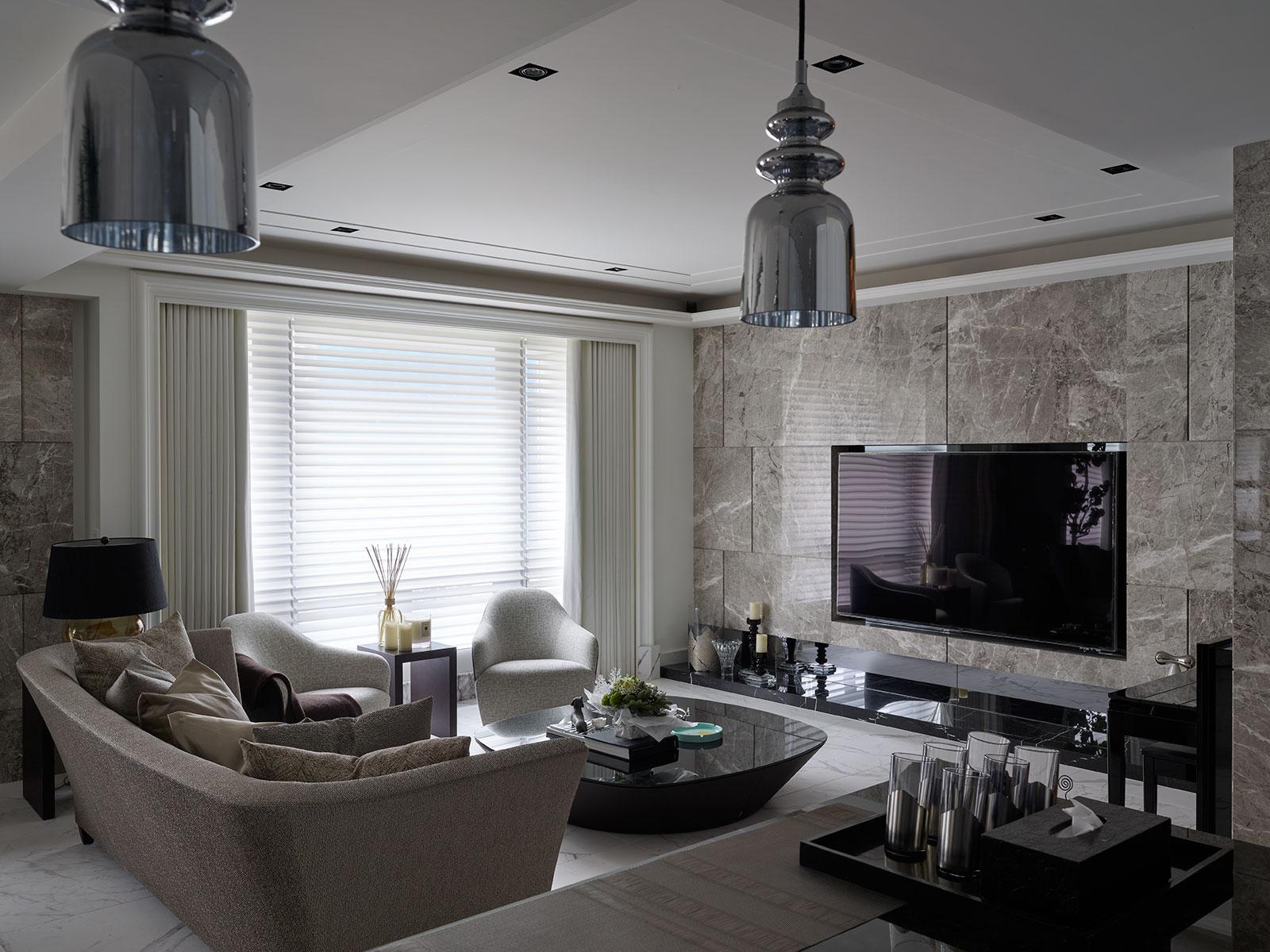 豪宅設計-生活真義-客廳