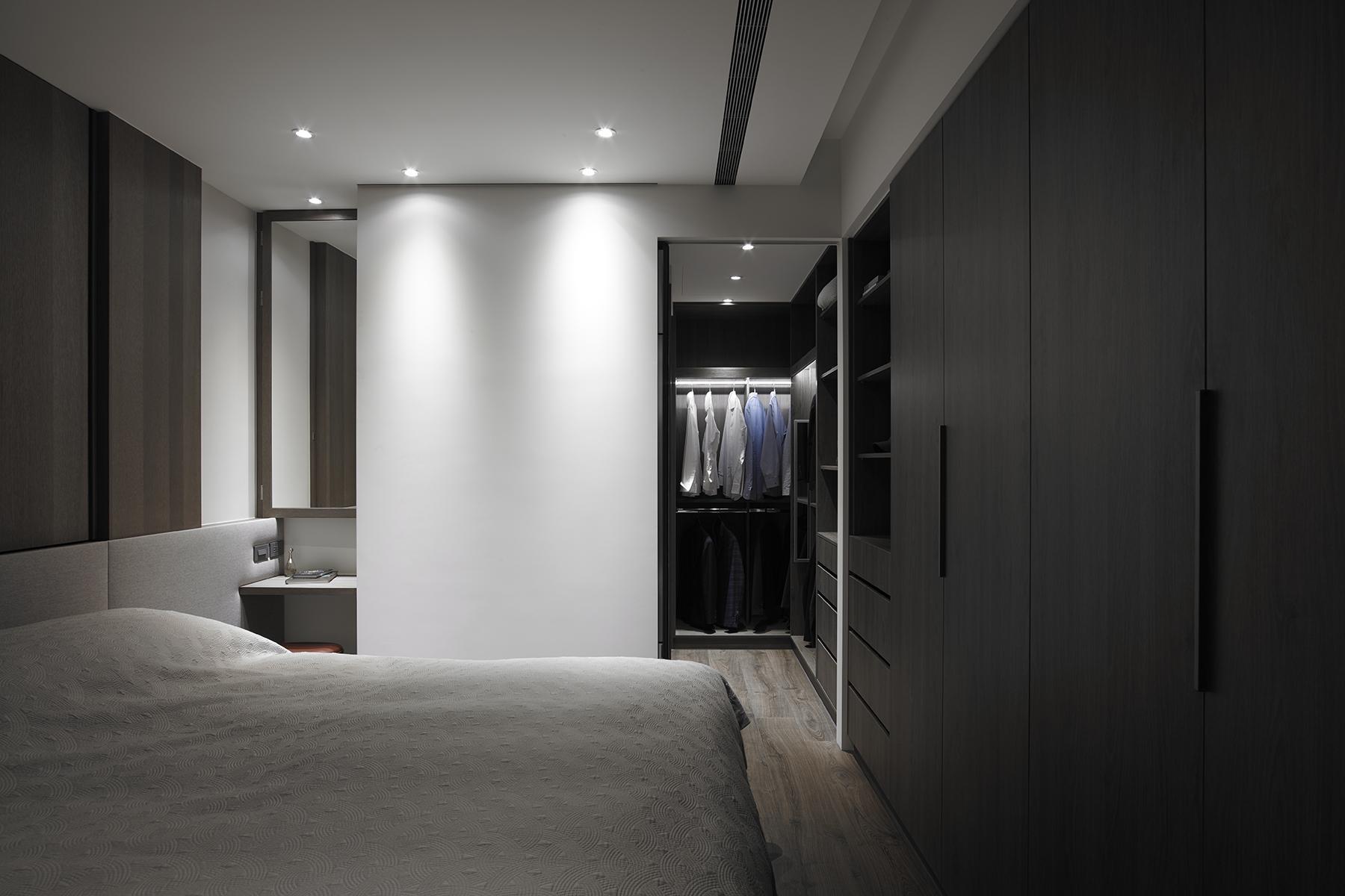 豪宅設計-歸旅-臥房