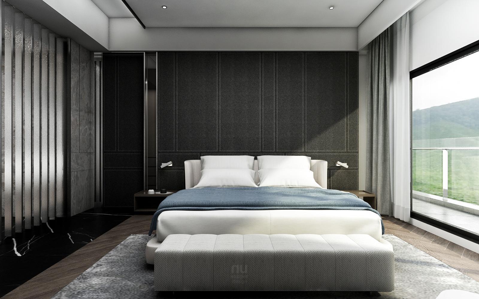 豪宅設計 - 山麓豪邸與城市天堂-臥室