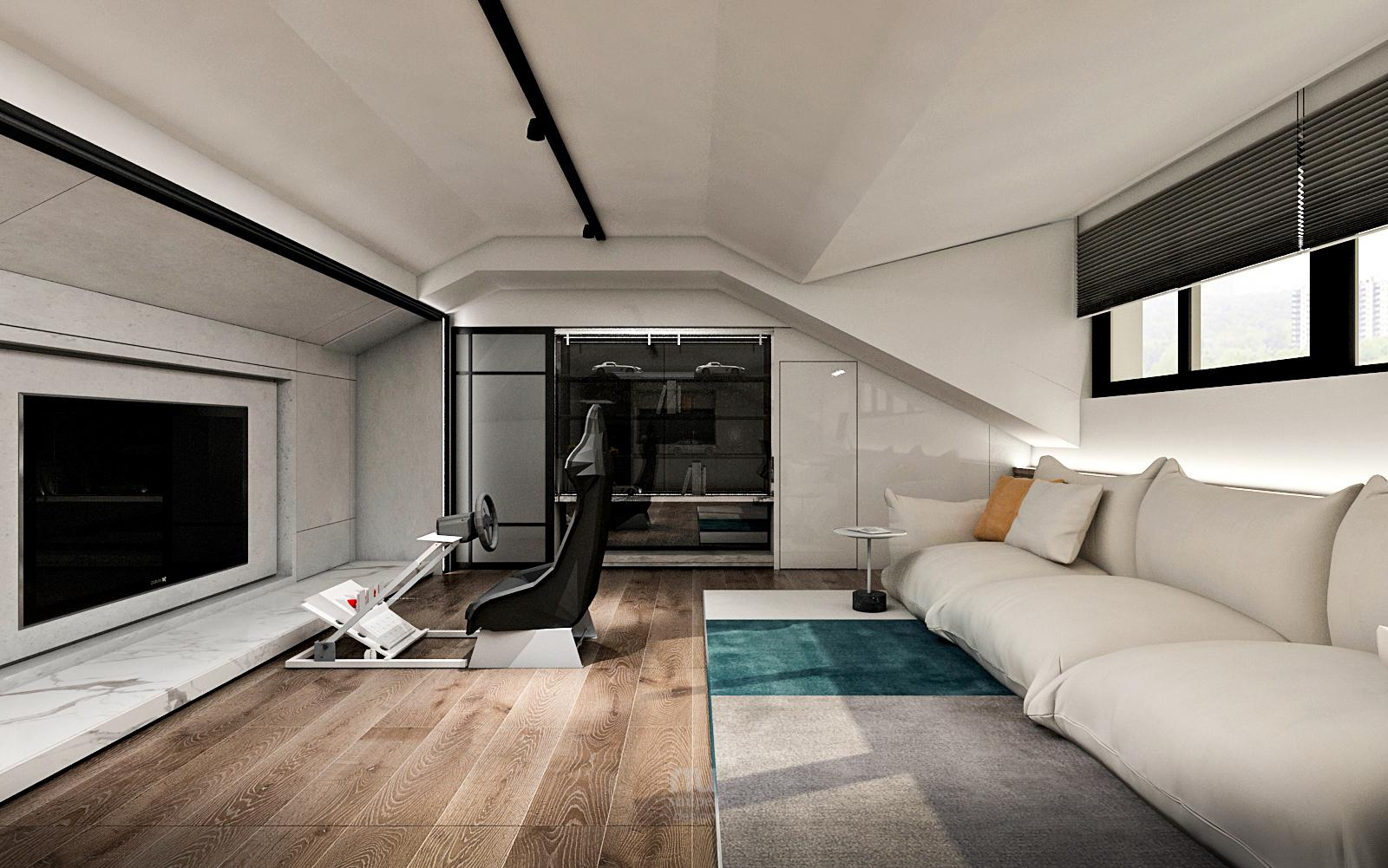 豪宅設計 - 山麓豪邸與城市天堂-客廳