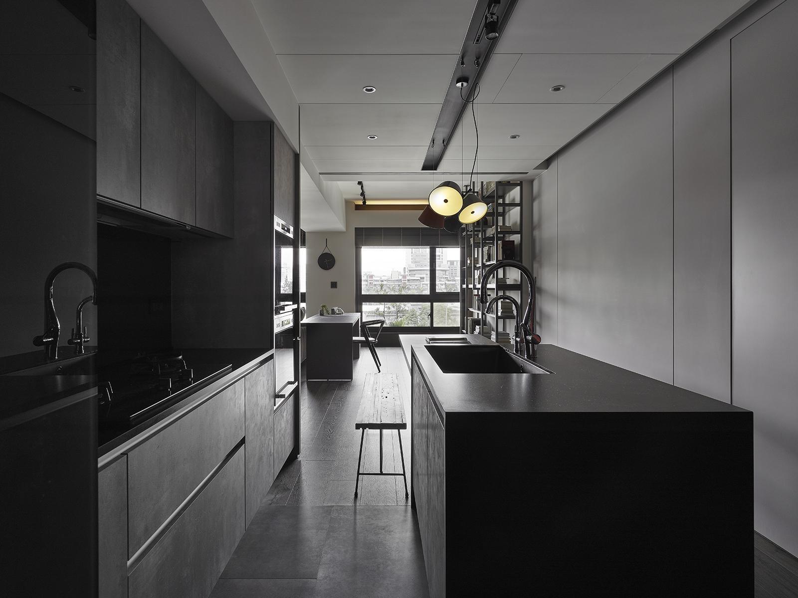 豪宅設計-歸旅-廚房