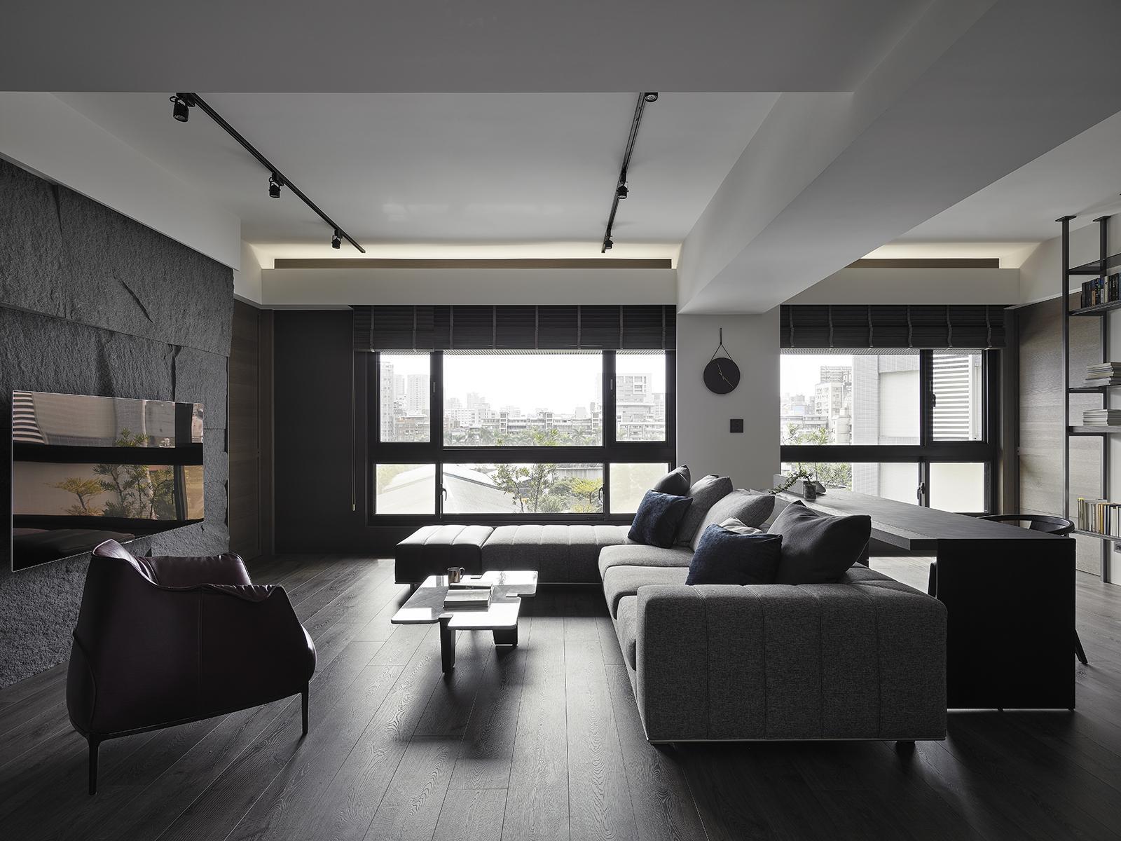 豪宅設計-歸旅-客廳