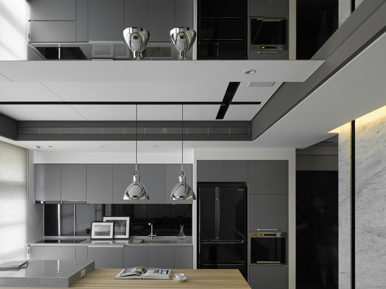 豪宅設計-上隱之湖-廚房