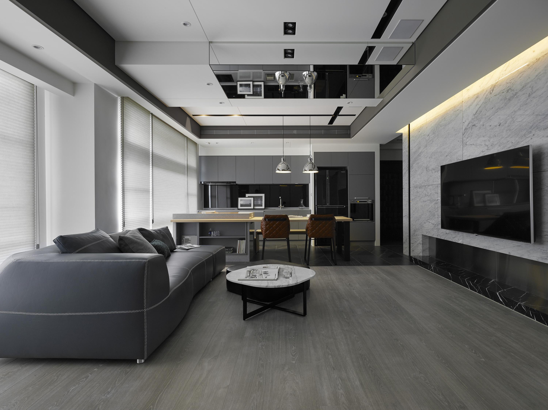 豪宅設計-上隱之湖-客廳