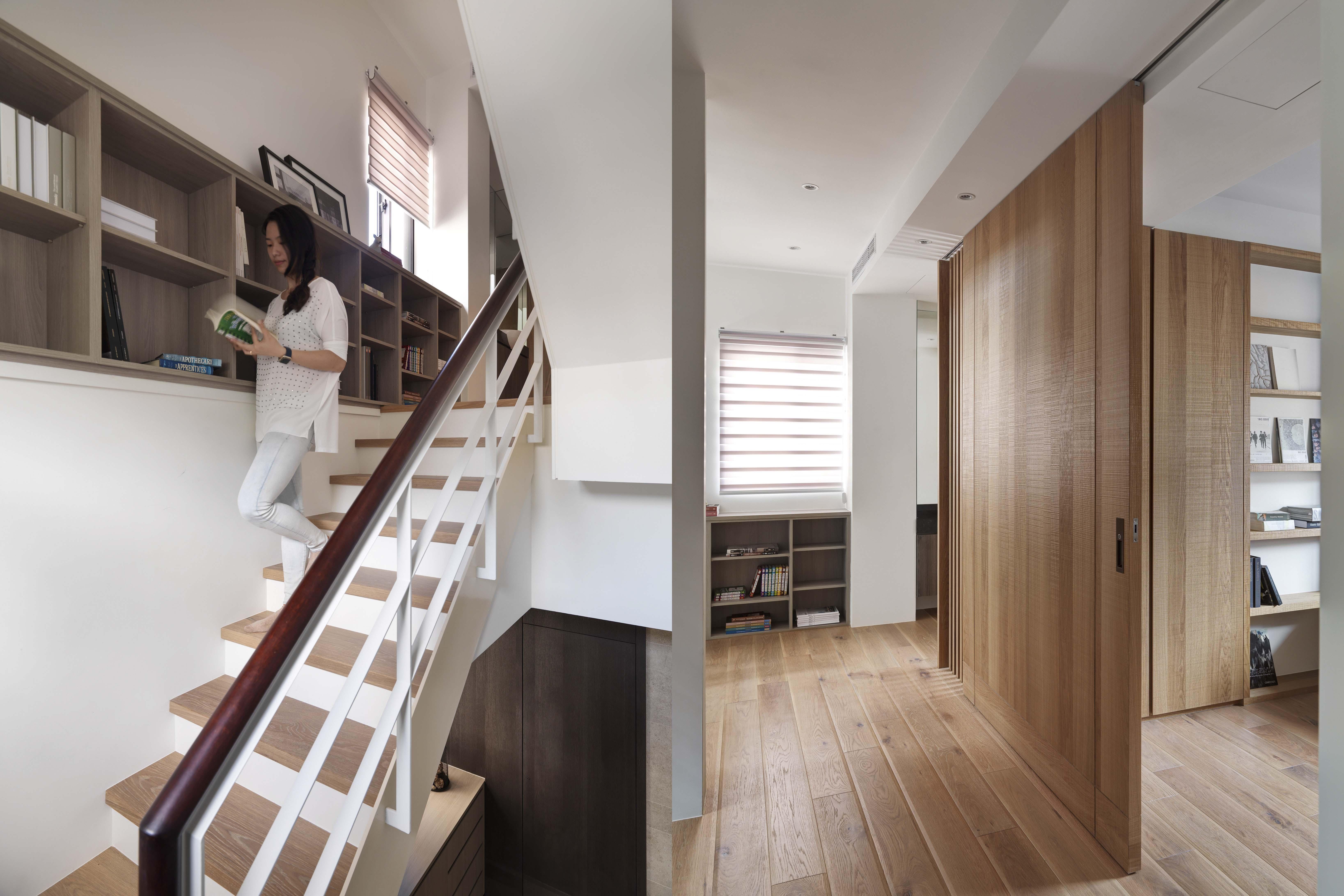 豪宅設計-青山-廊道
