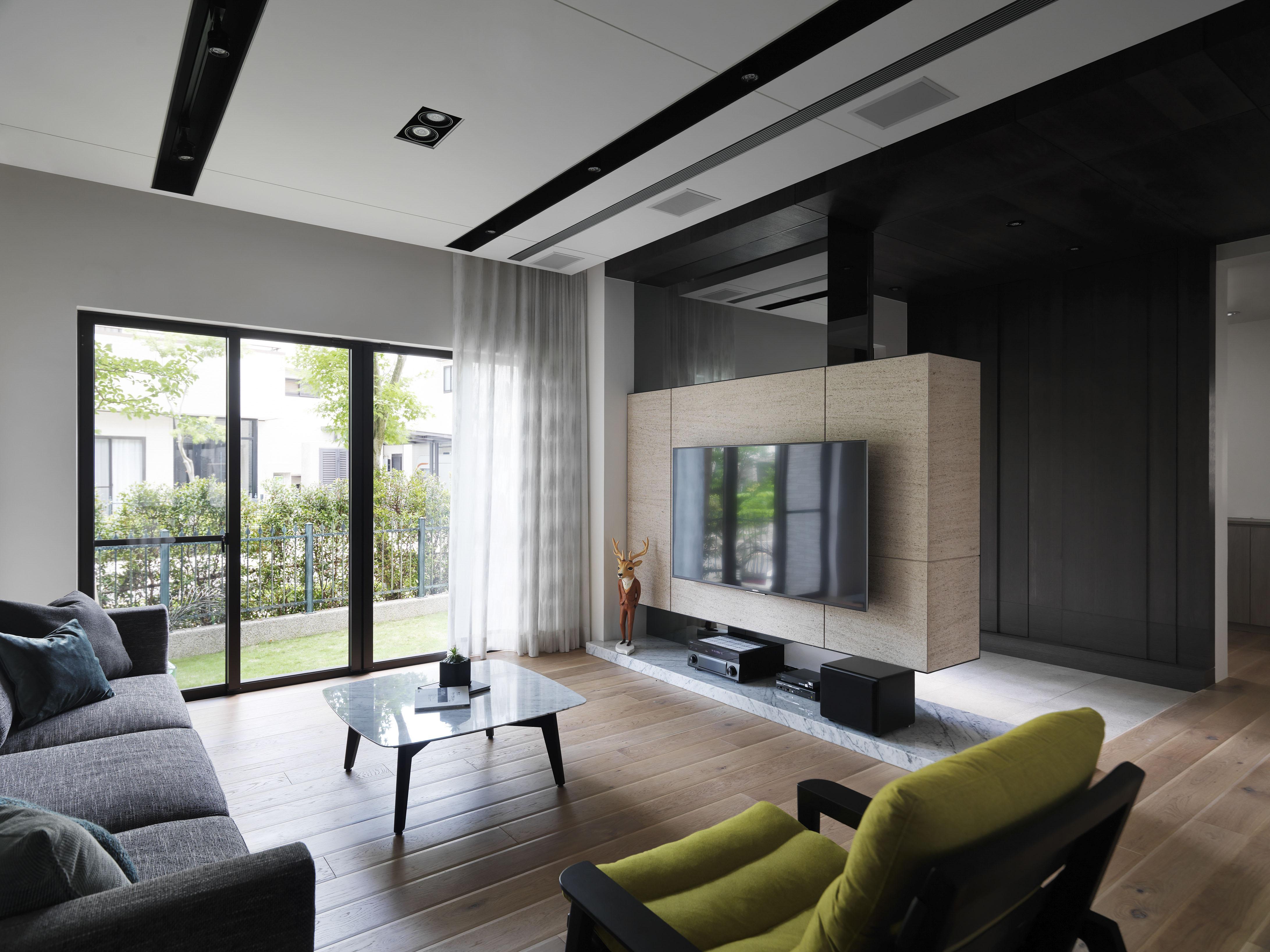 豪宅設計-青山-客廳