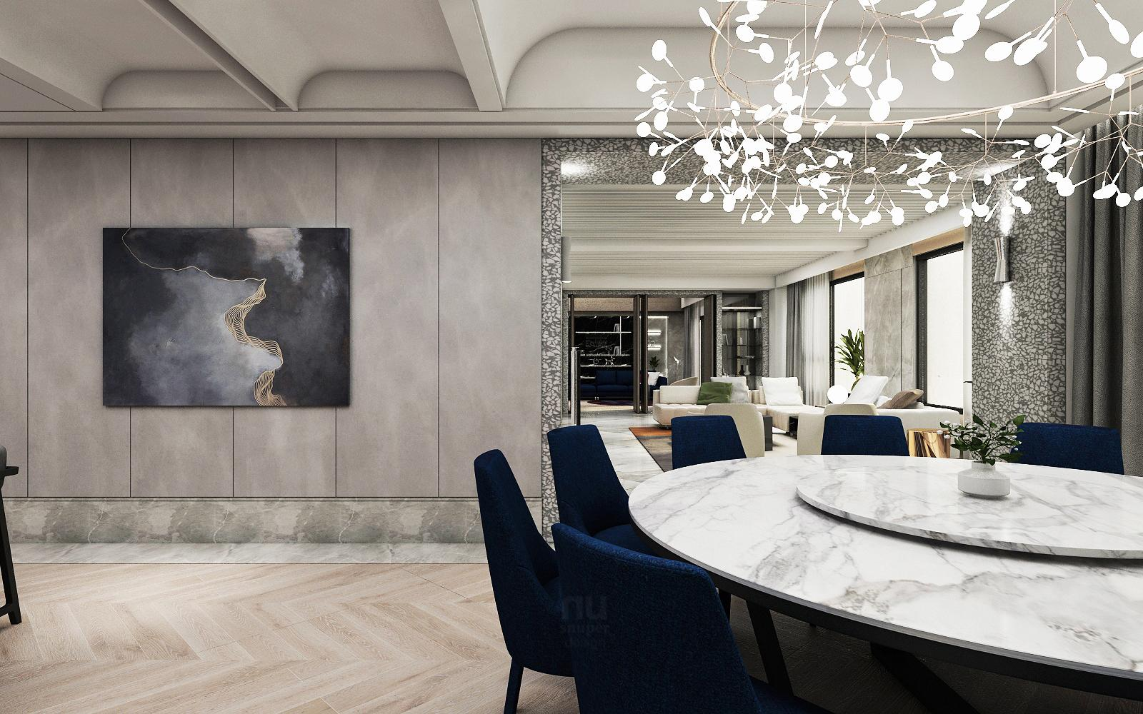 豪宅設計 - 都會靈感與華麗轉身-廚房