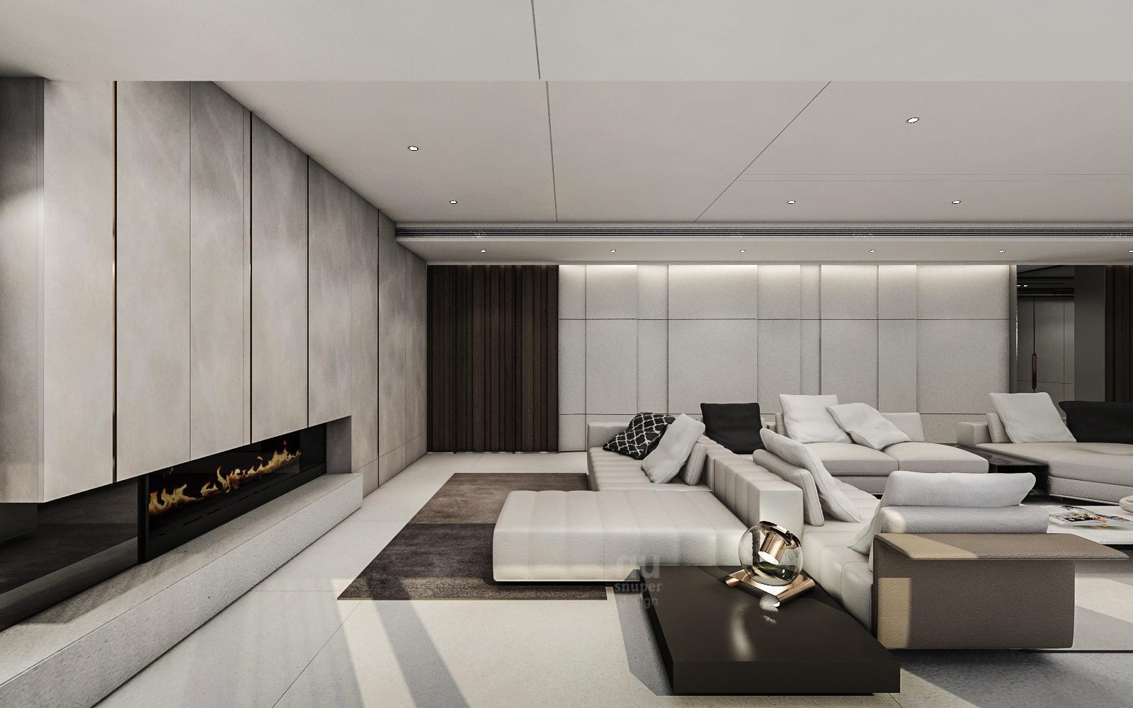 i豪宅設計-Penthouse 台中序曲-客廳