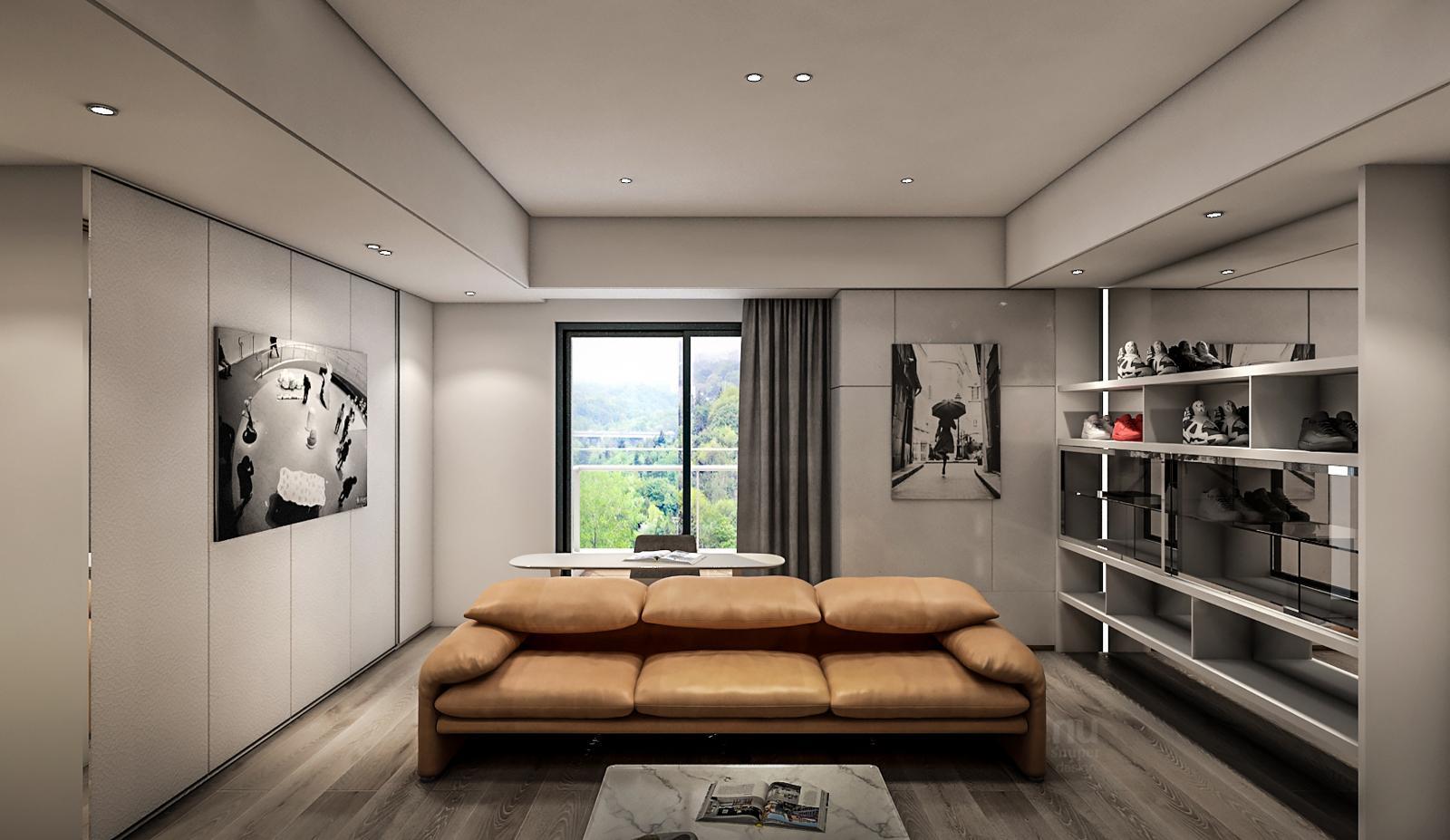 豪宅設計-Penthouse 台中序曲-客廳