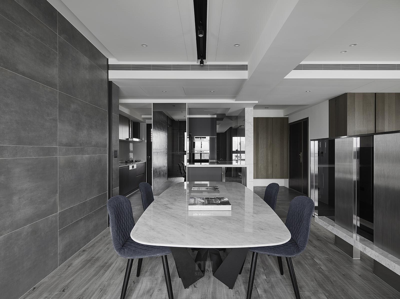 豪宅設計-自由之畔-辦公室