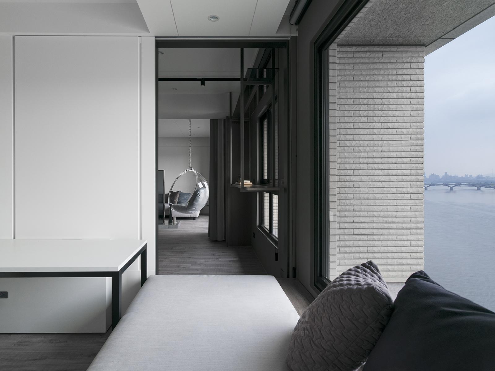 豪宅設計-自由之畔-臥房