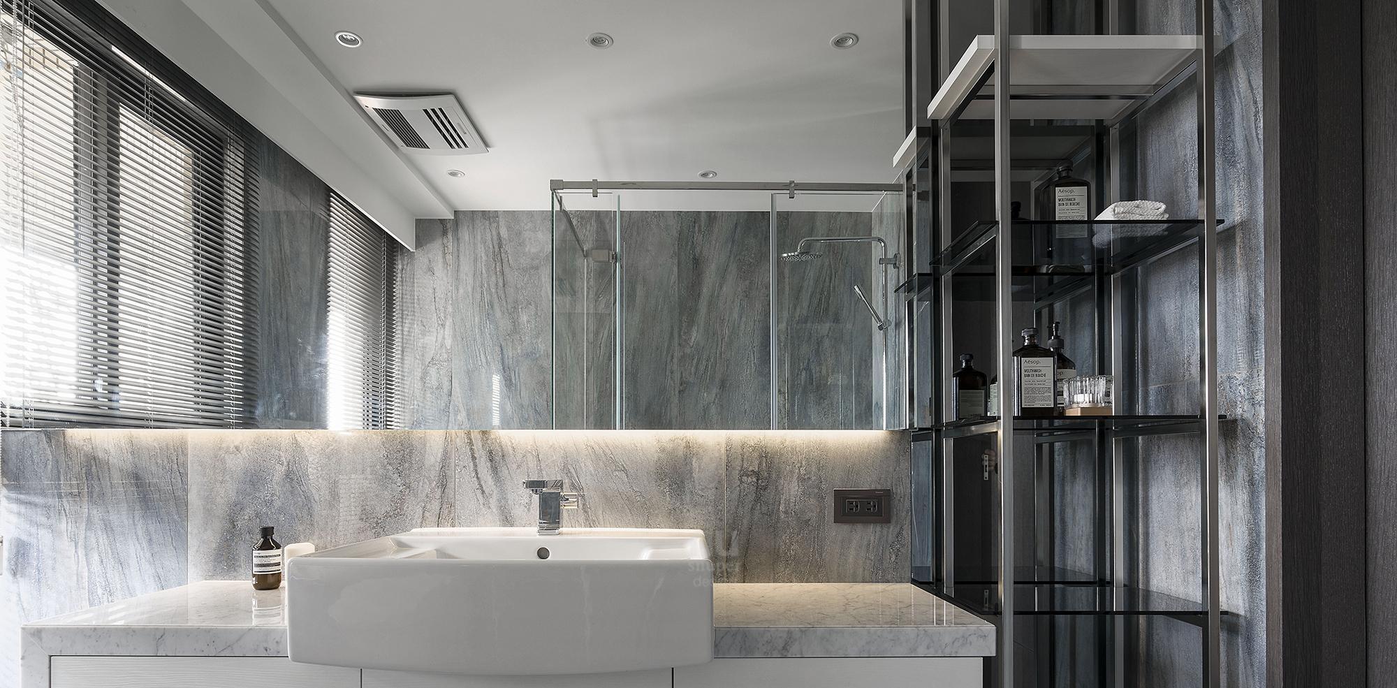 豪宅設計-自由之畔-浴廁