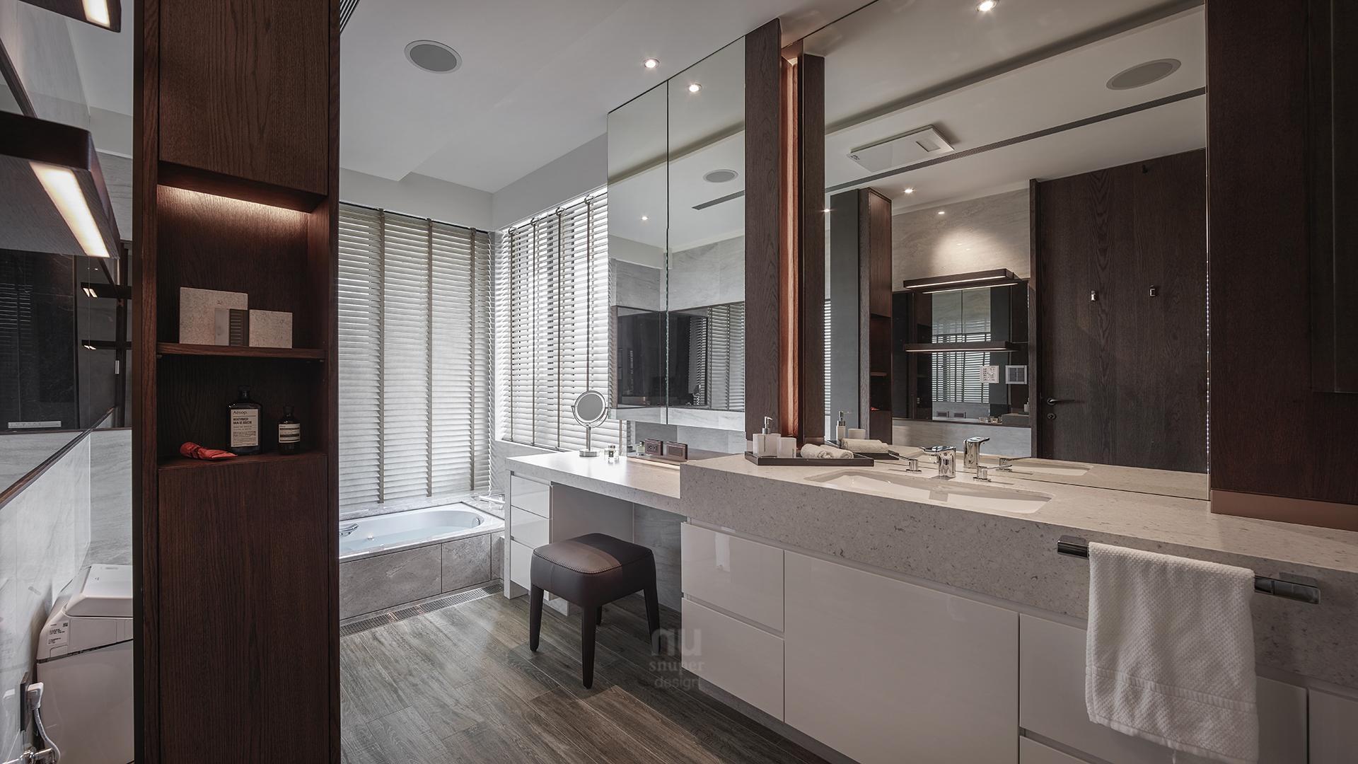 豪宅設計-人文雋永-浴室