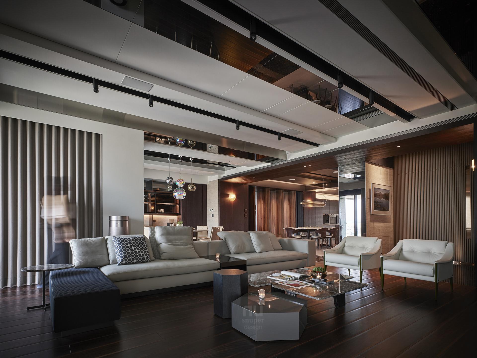 豪宅設計 - 人文雋永-客廳