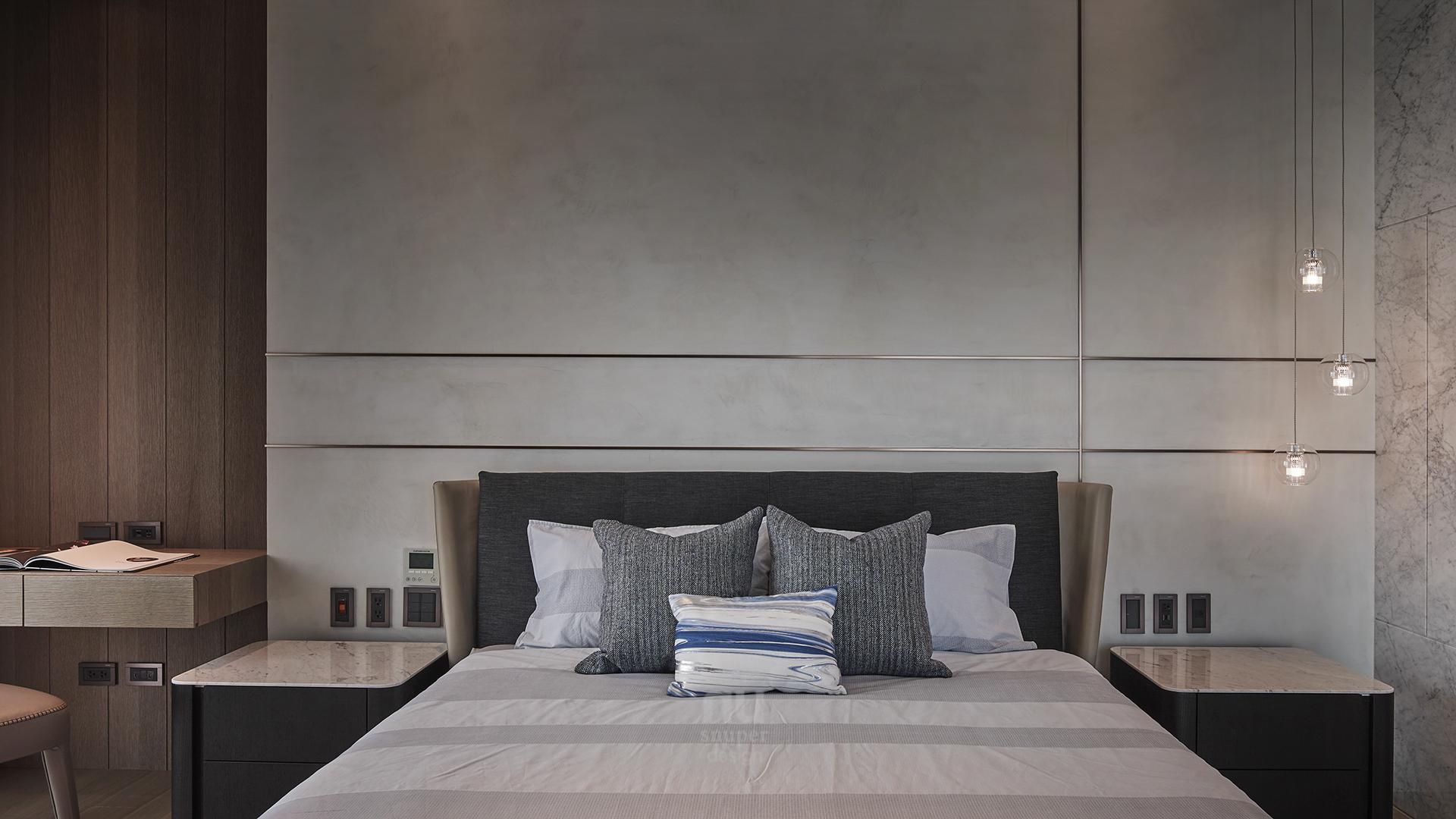 豪宅設計-人文雋永-臥室