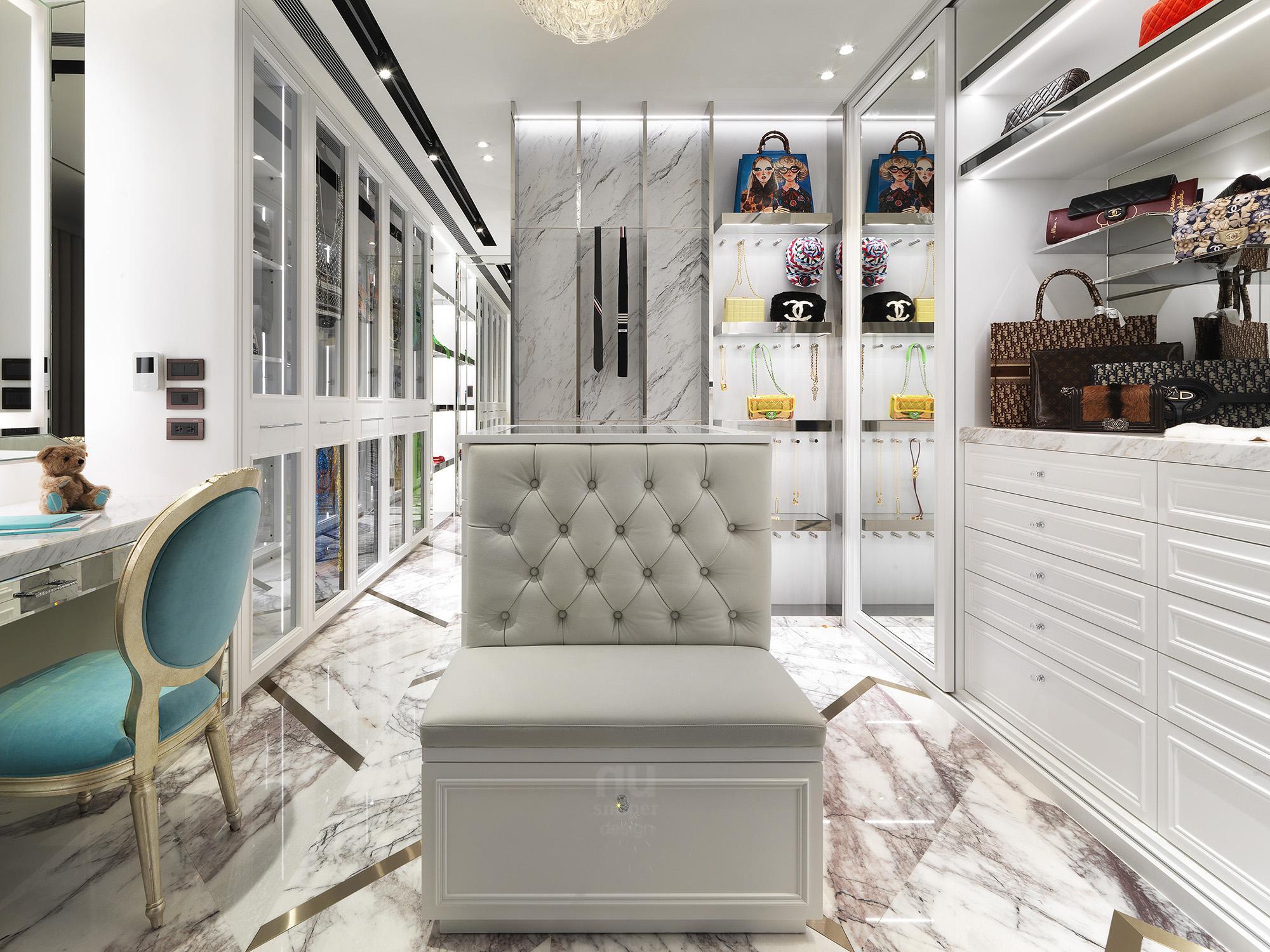 豪宅設計 - 都會時尚天堂-儲藏室