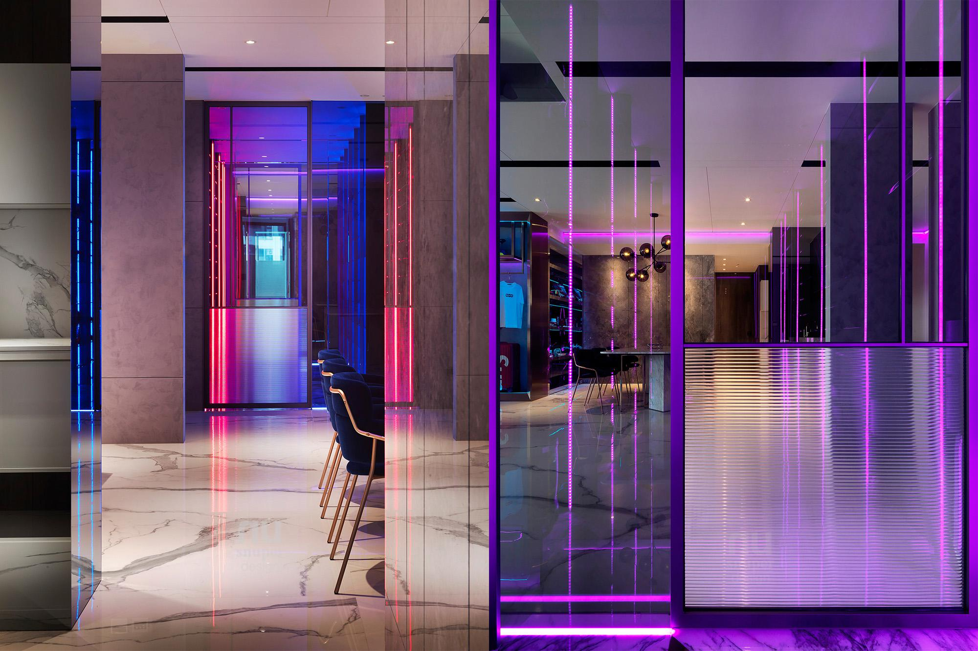 豪宅設計 - 都會時尚天堂-客廳