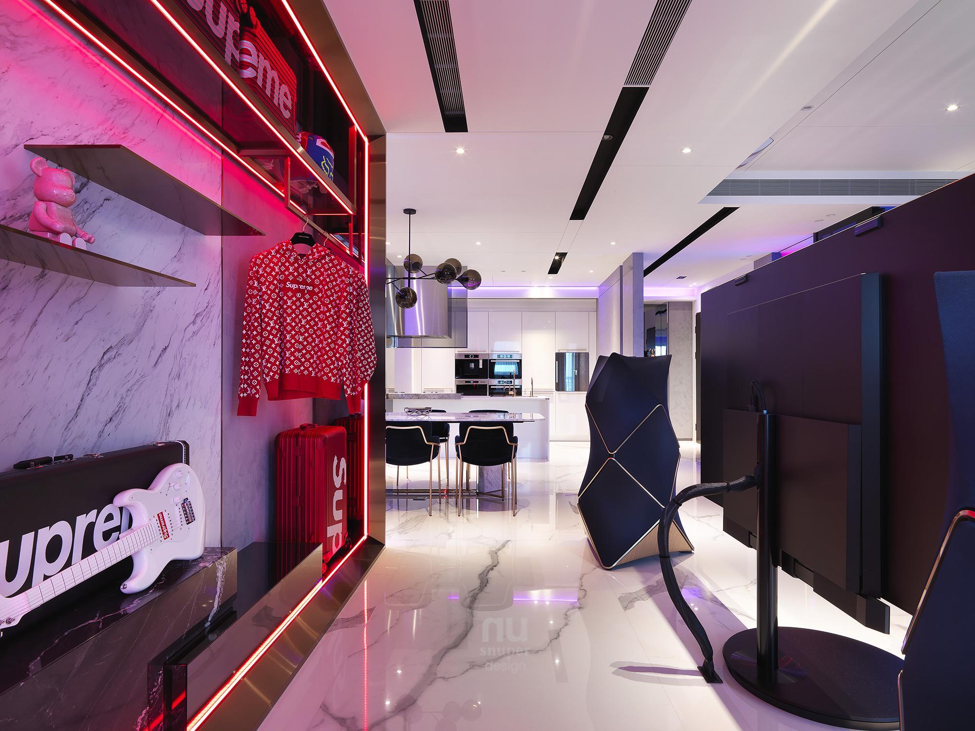 豪宅設計 - 都會時尚天堂-廚房
