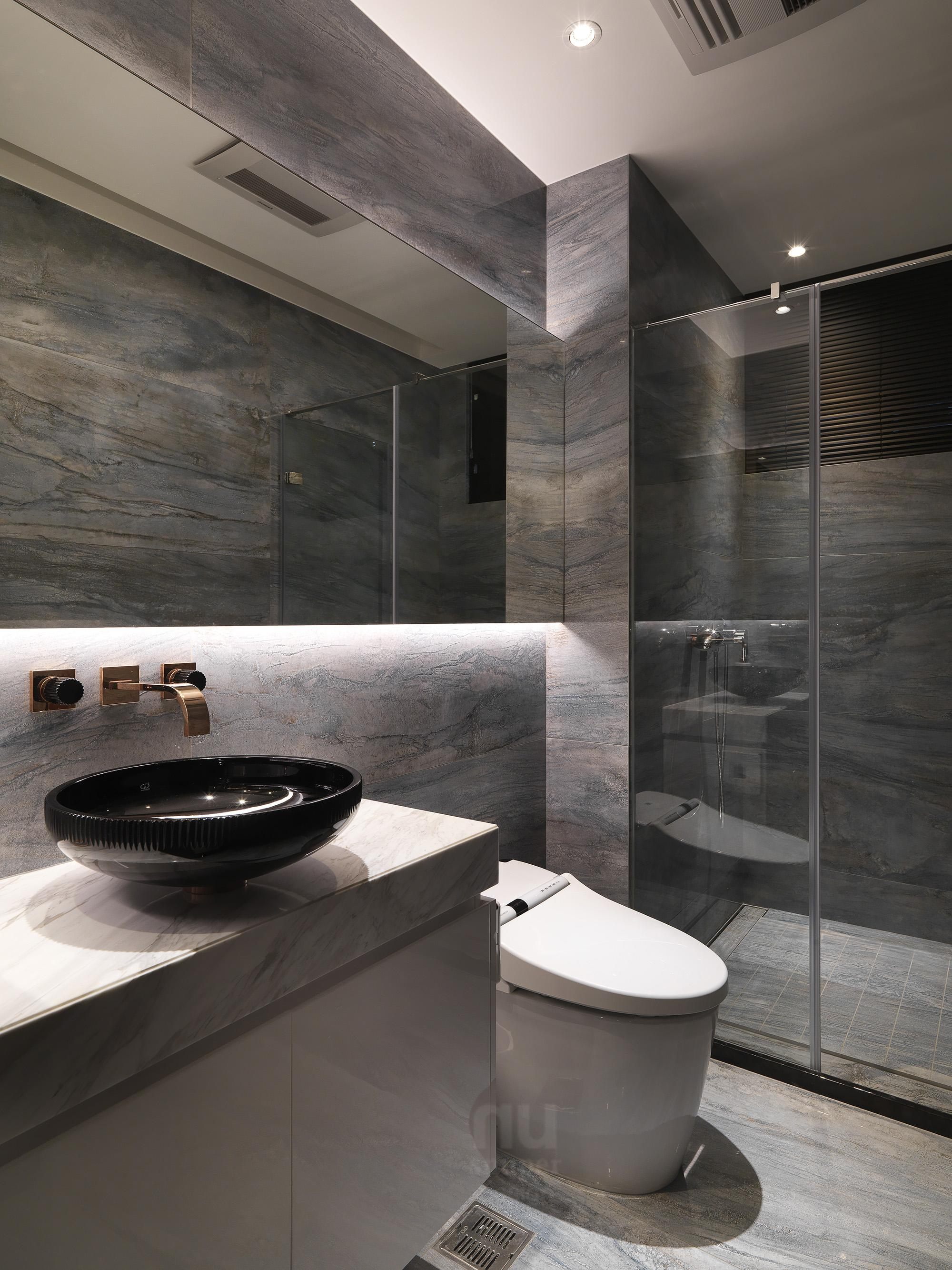 豪宅設計 - 都會時尚天堂-浴室