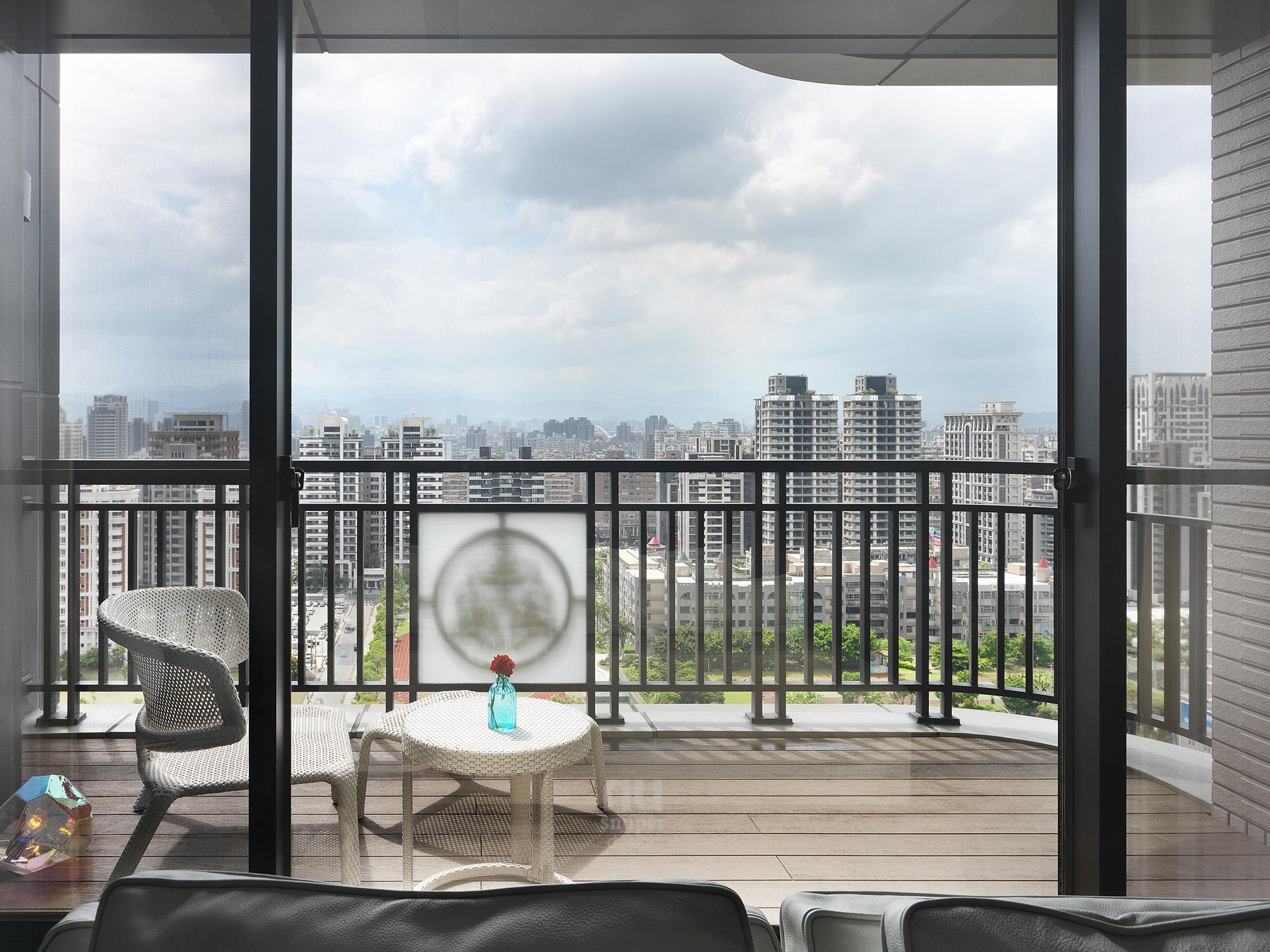 豪宅設計 - 都會時尚天堂-陽台