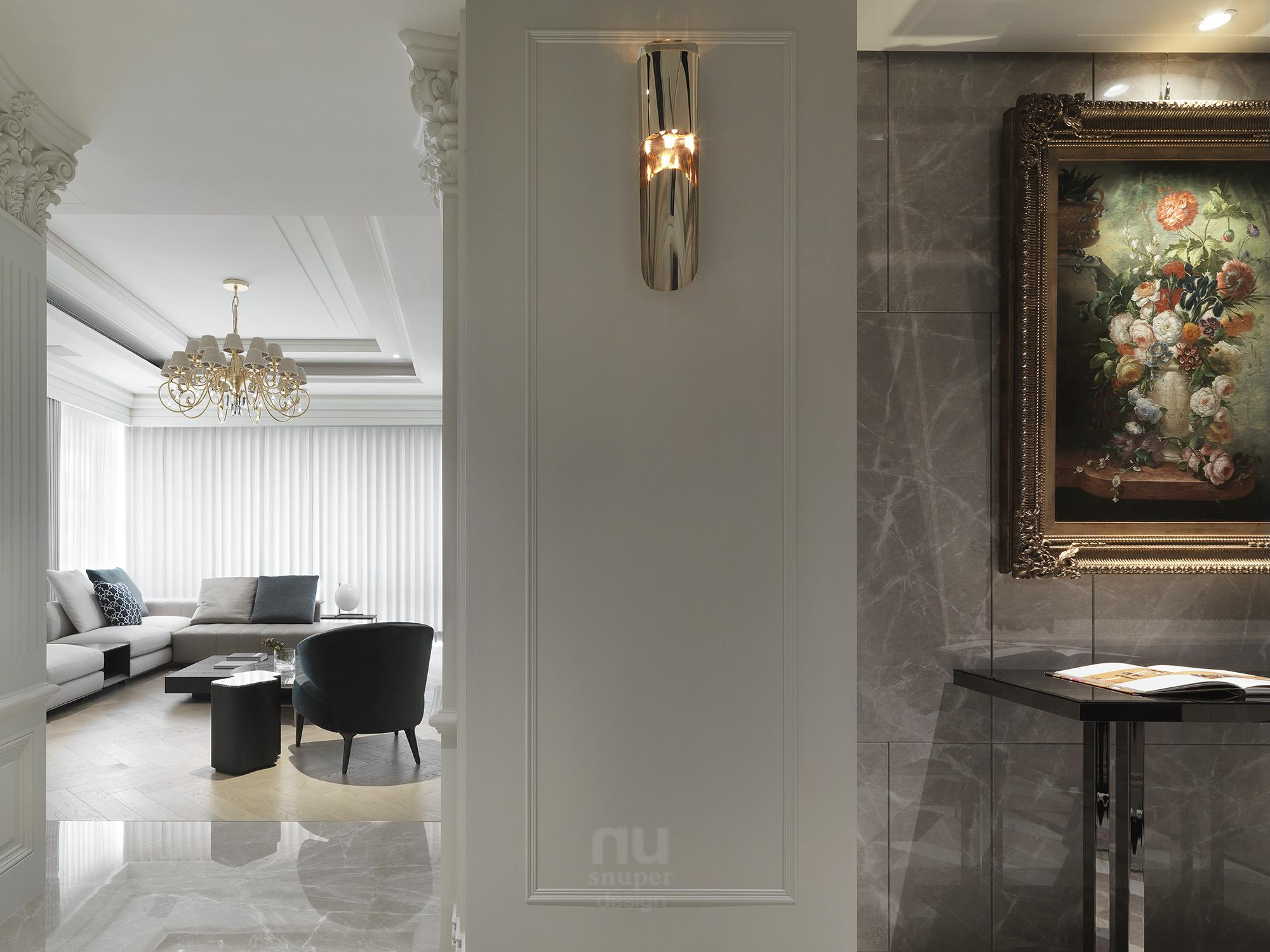 豪宅設計 - 古典印象-客廳